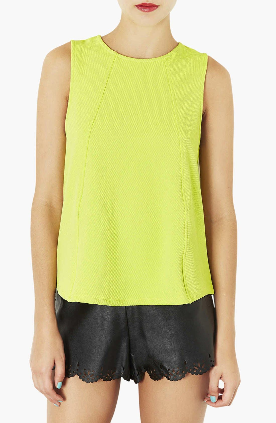 Main Image - Topshop Textured Shell