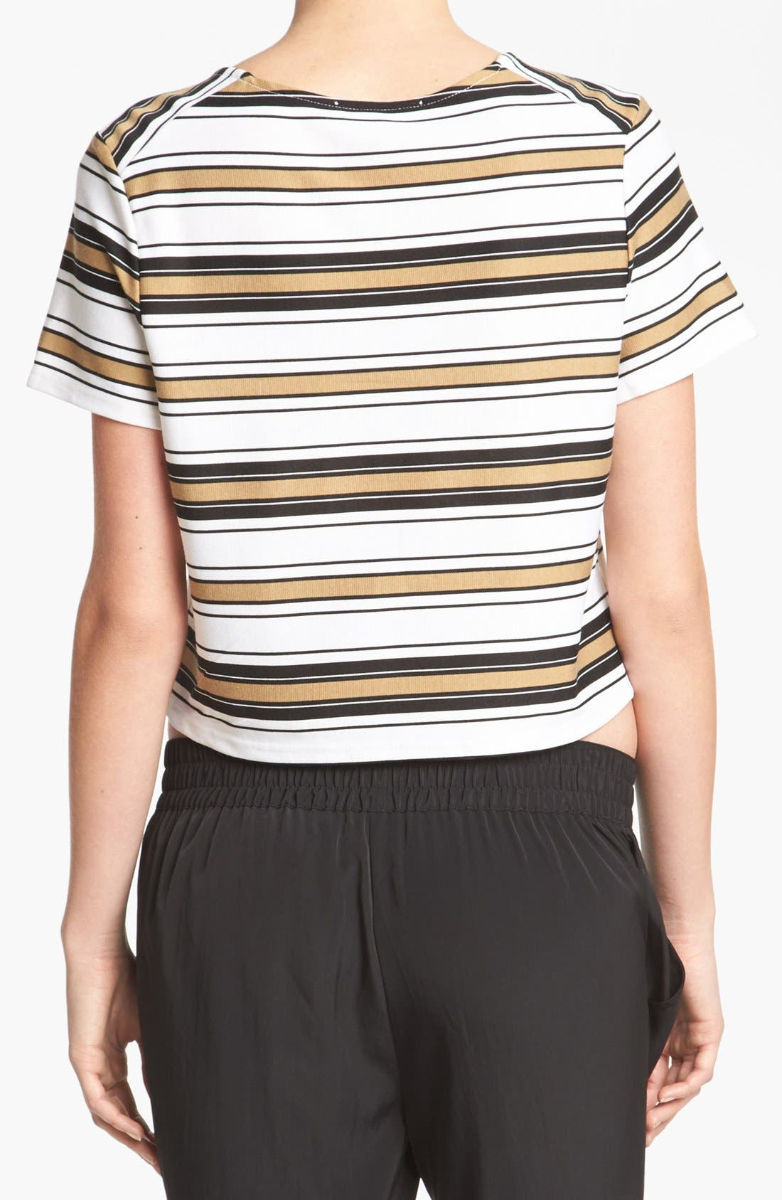 Alternate Image 2  - WAYF Stripe Knit Top