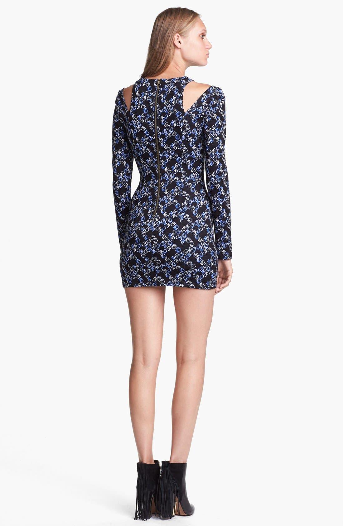 Alternate Image 2  - Lucca Couture Cutout Sheath Dress