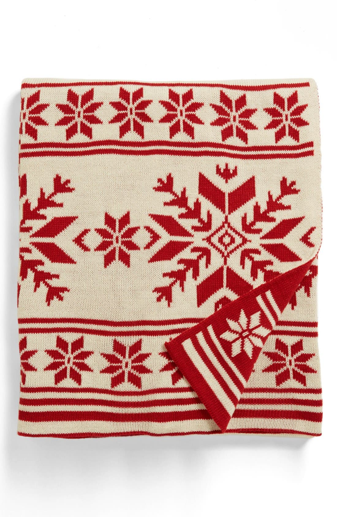 Alternate Image 1 Selected - Kennebunk Home 'Snowflake' Throw