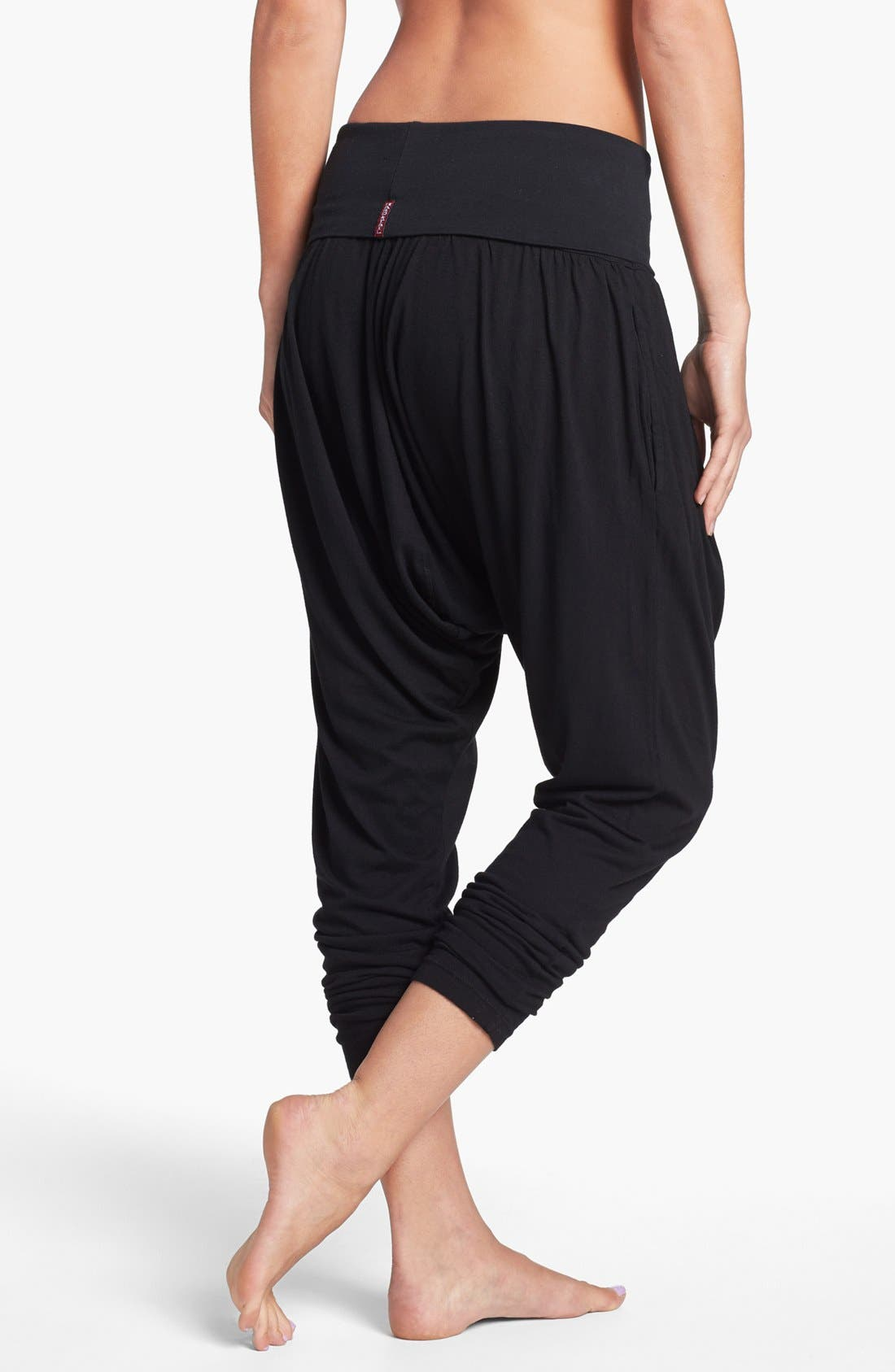 Alternate Image 2  - Hard Tail Roll Waist Harem Pants