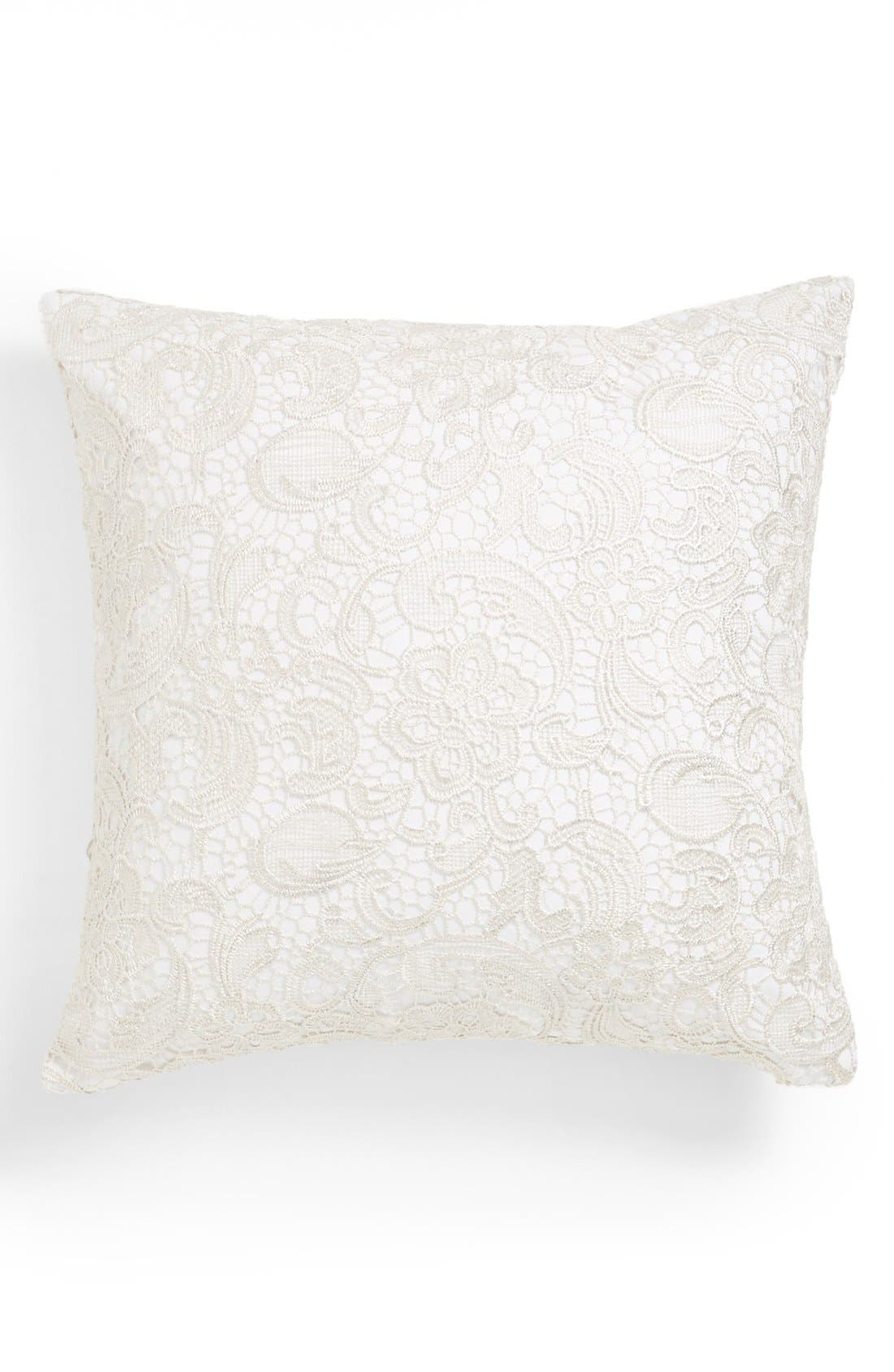 Alternate Image 1 Selected - Nordstrom at Home 'Glistening Lace' Pillow
