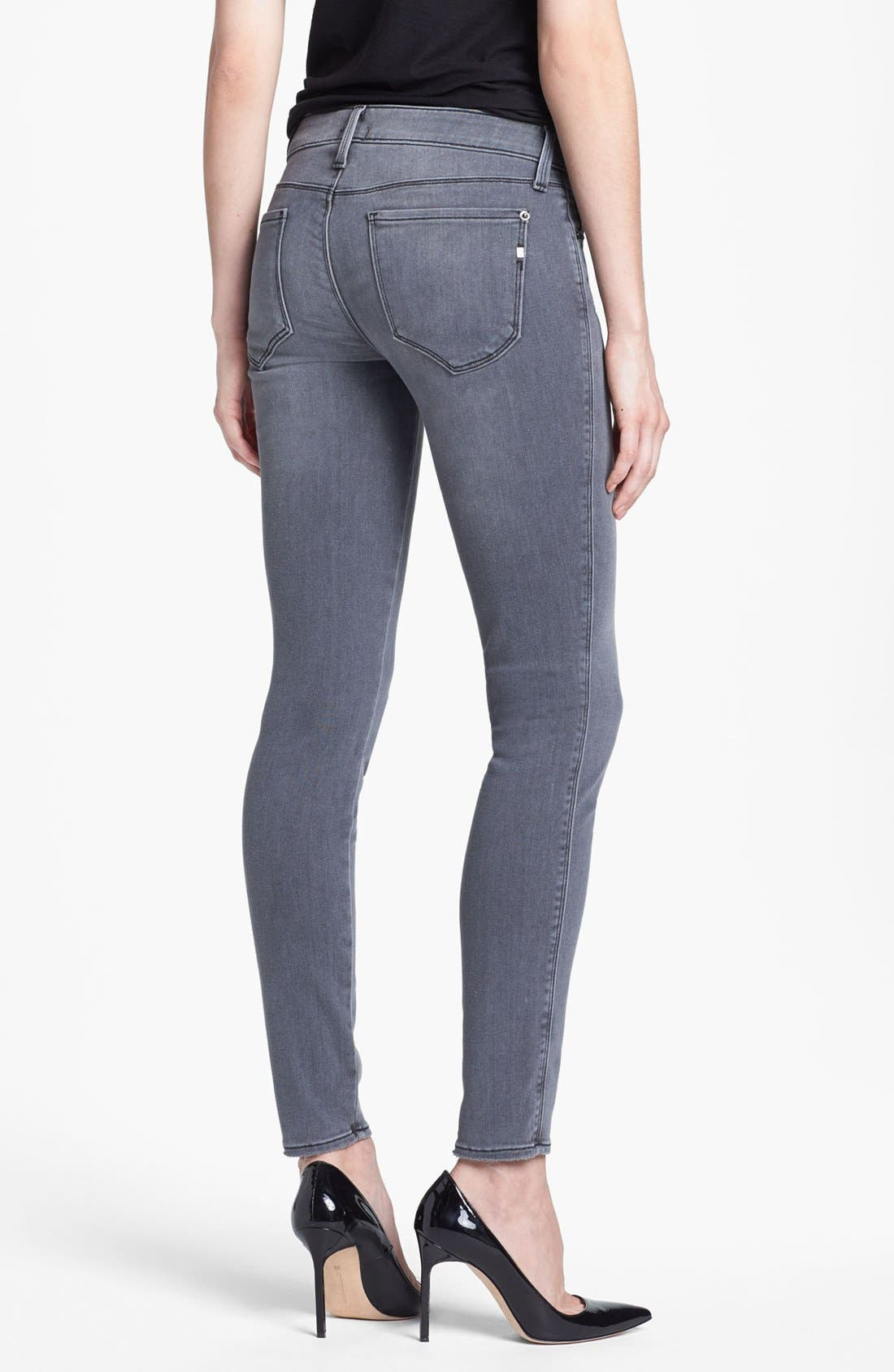 Alternate Image 2  - Genetic 'Shya' Cigarette Skinny Jeans (Gaze)