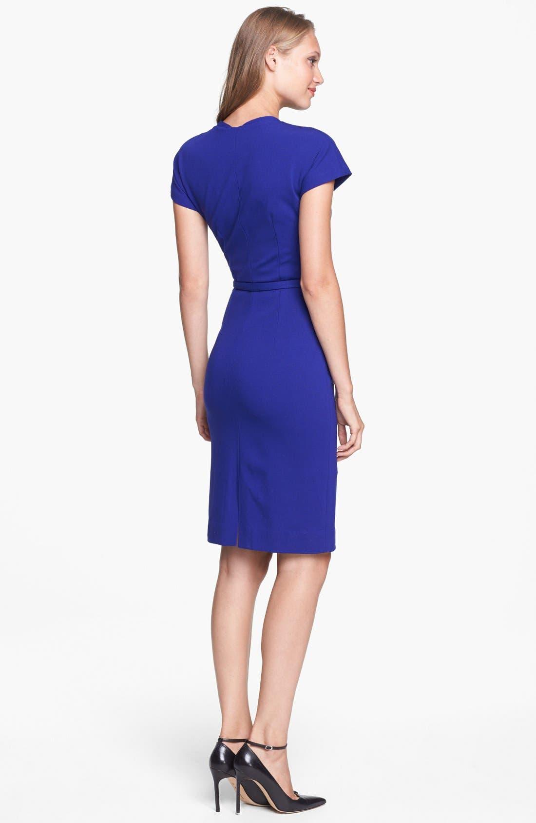 Alternate Image 2  - Diane von Furstenberg 'Maizah' Twill Sheath Dress
