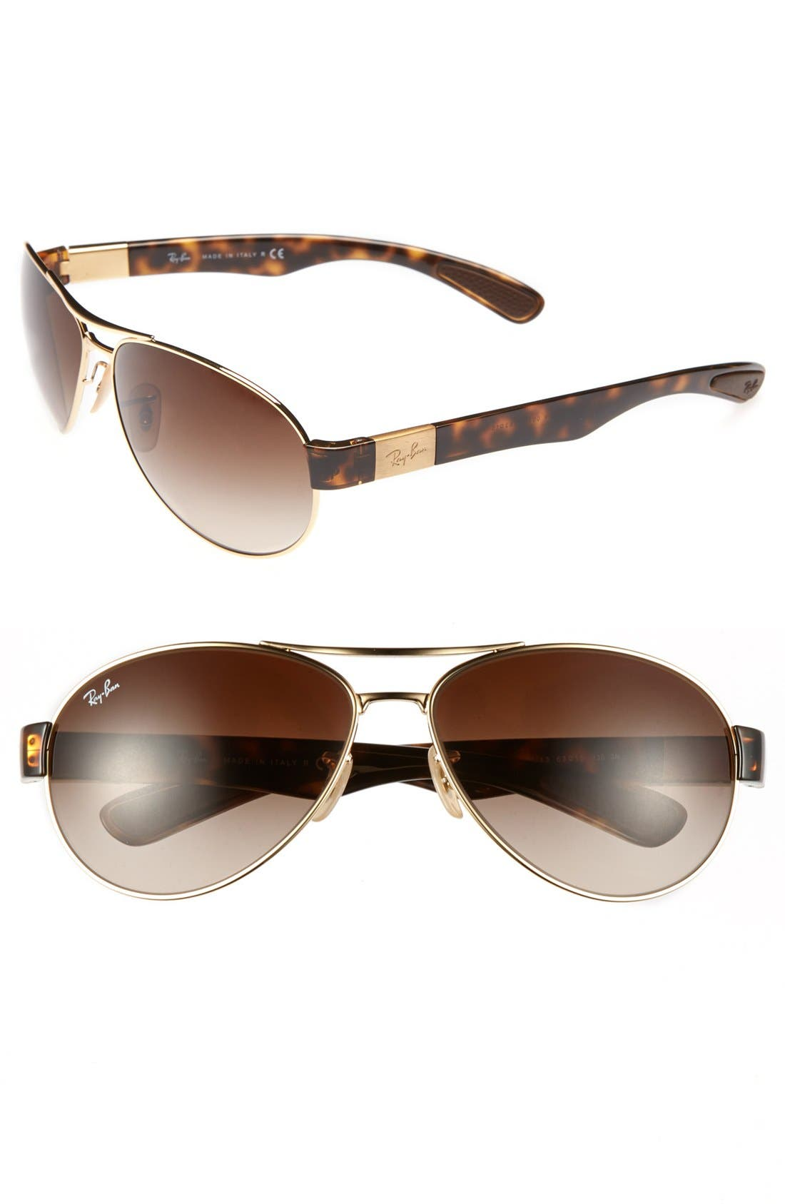 Alternate Image 1 Selected - Ray-Ban 'Pilot' Sunglasses