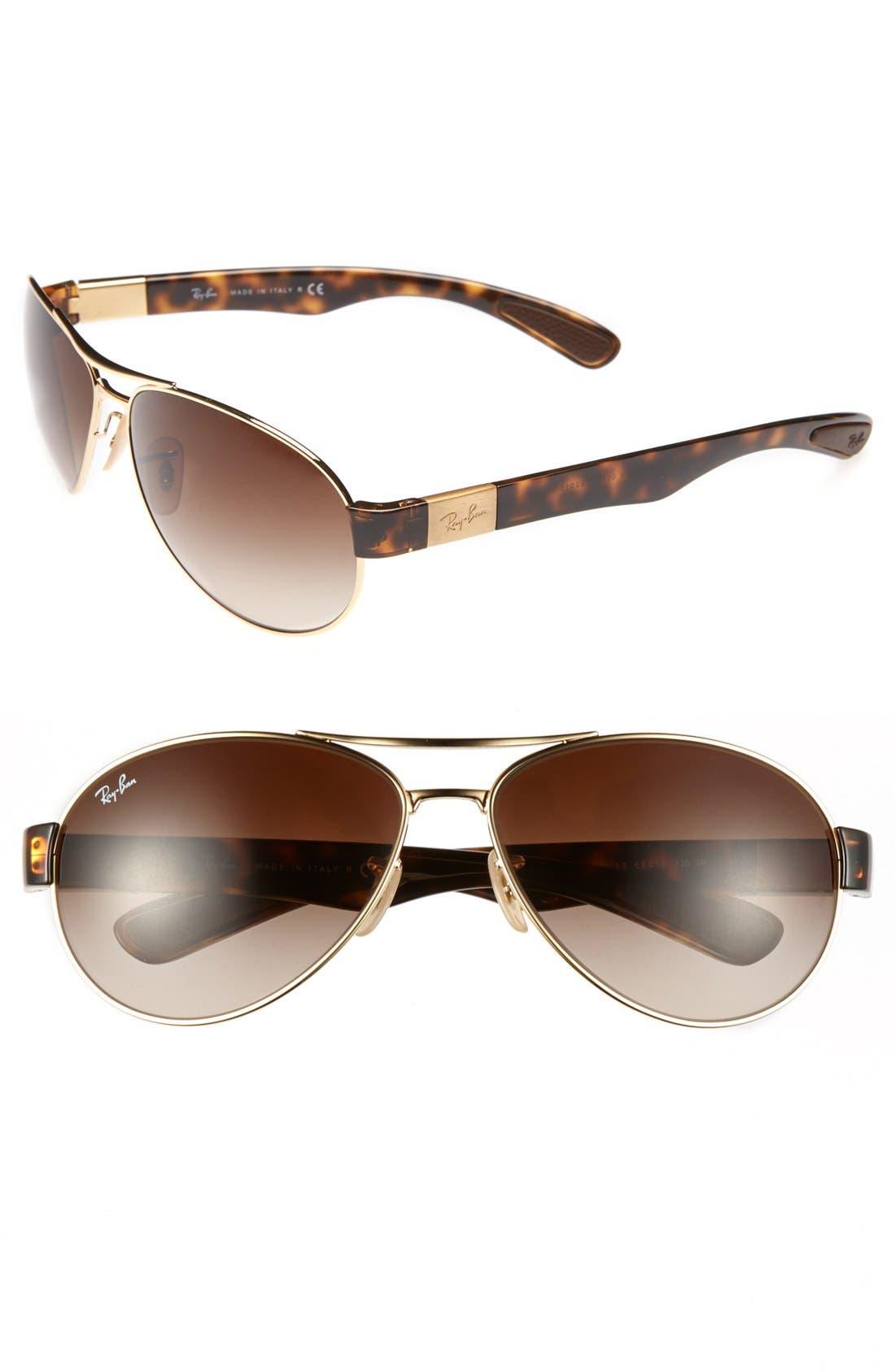 Main Image - Ray-Ban 'Pilot' Sunglasses