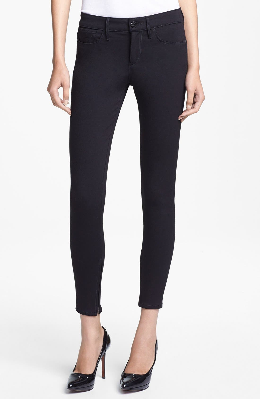 Main Image - Habitual 'Almas' Skinny Zip Detail Jeans