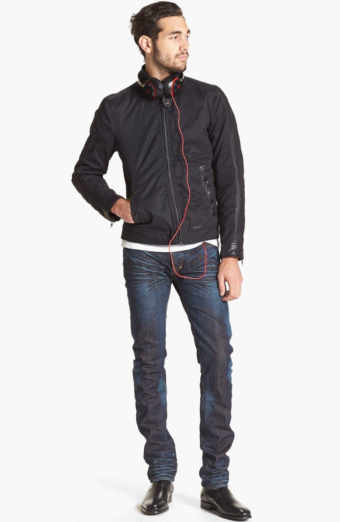 Alternate Image 5  - PRPS 'Rambler' Slim Fit Selvedge Jeans (6 Month)