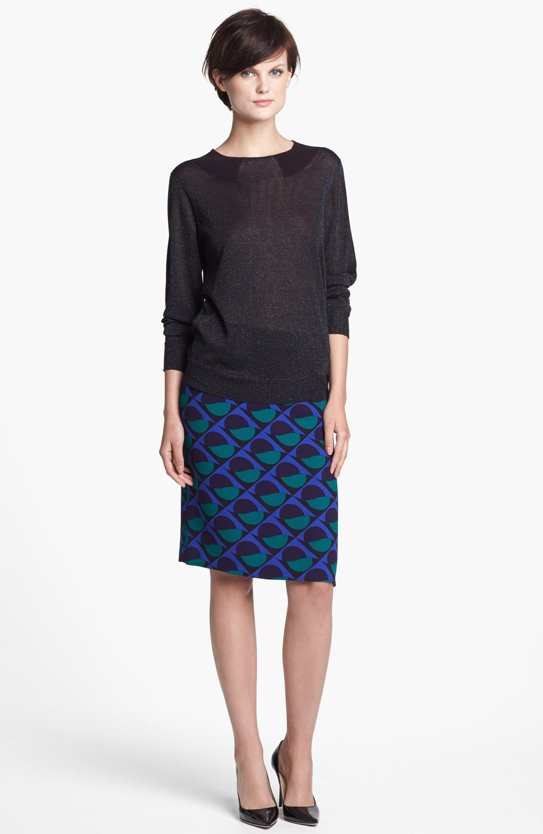 Alternate Image 4  - MARC BY MARC JACOBS 'Etta' Print Pencil Skirt