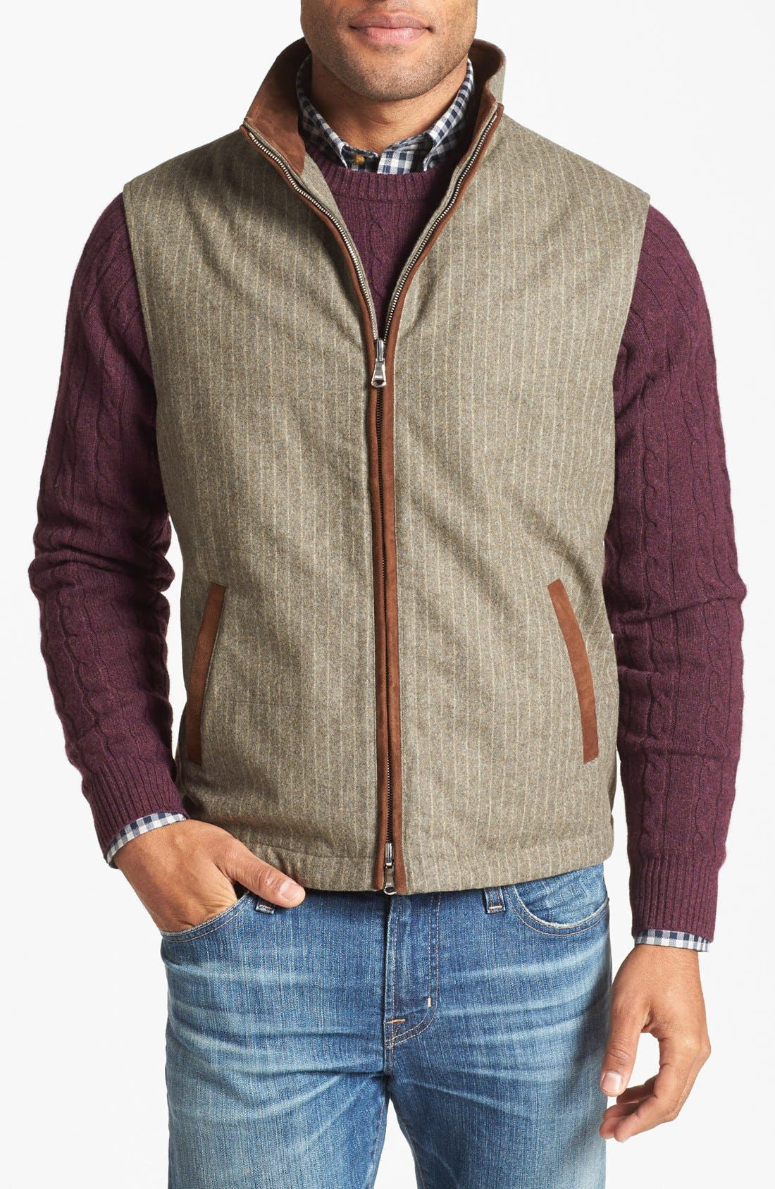 Alternate Image 2  - Robert Talbott 3-in-1 Quilted Jacket