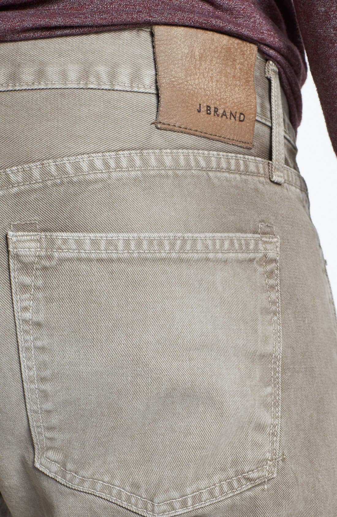 Alternate Image 4  - J Brand 'Kane' Slim Fit Jeans (Washed Boulder)