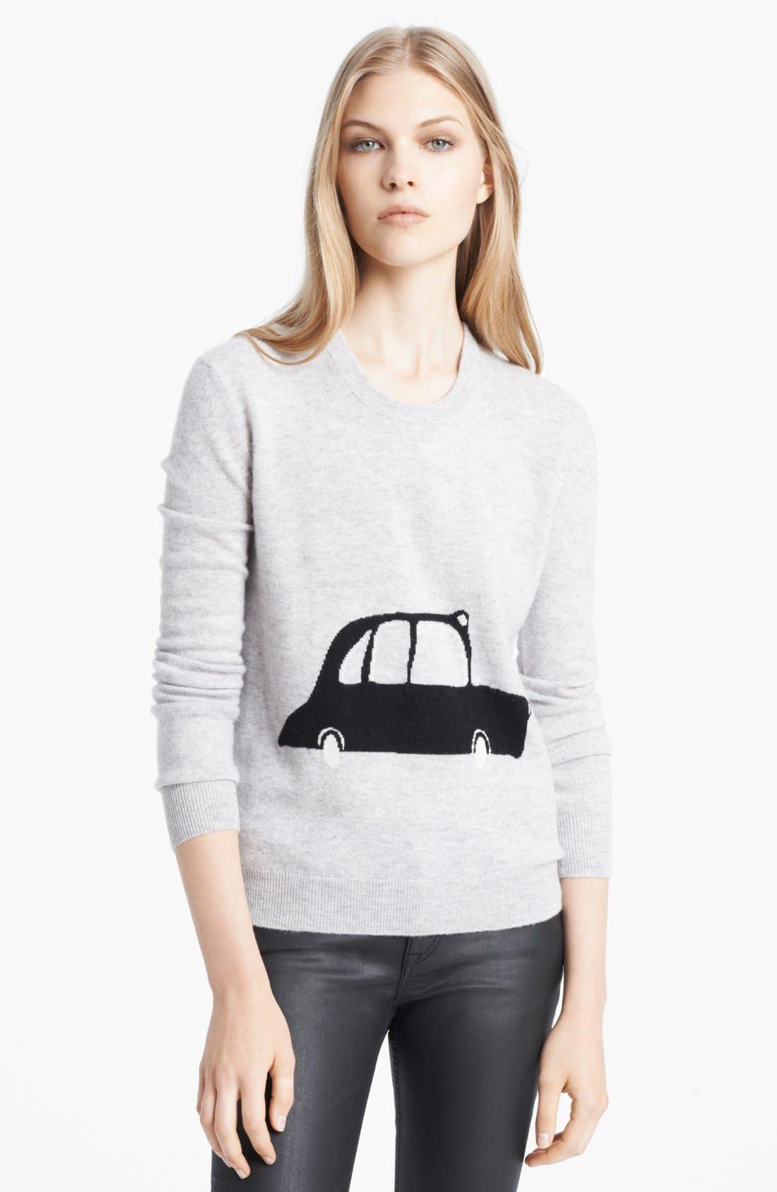 Alternate Image 1 Selected - Burberry Brit Intarsia Sweater