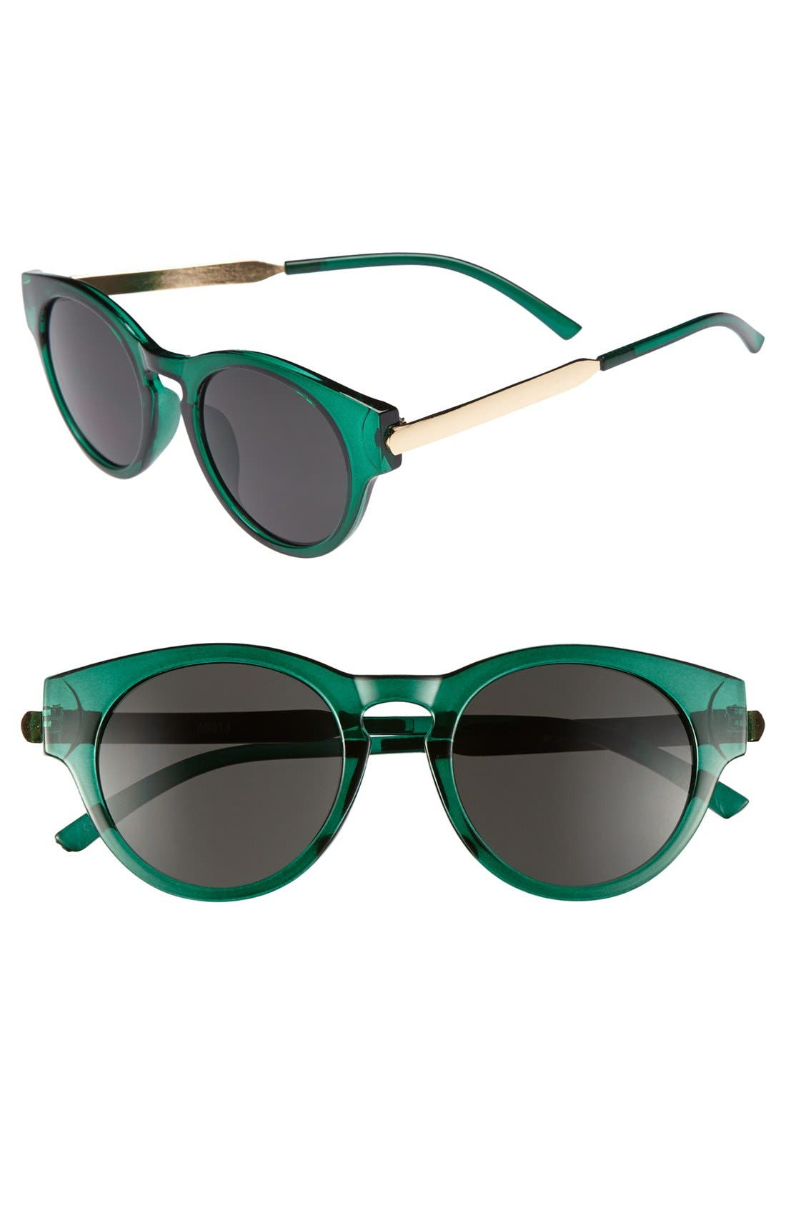 Main Image - A.J. Morgan 48mm Retro Sunglasses