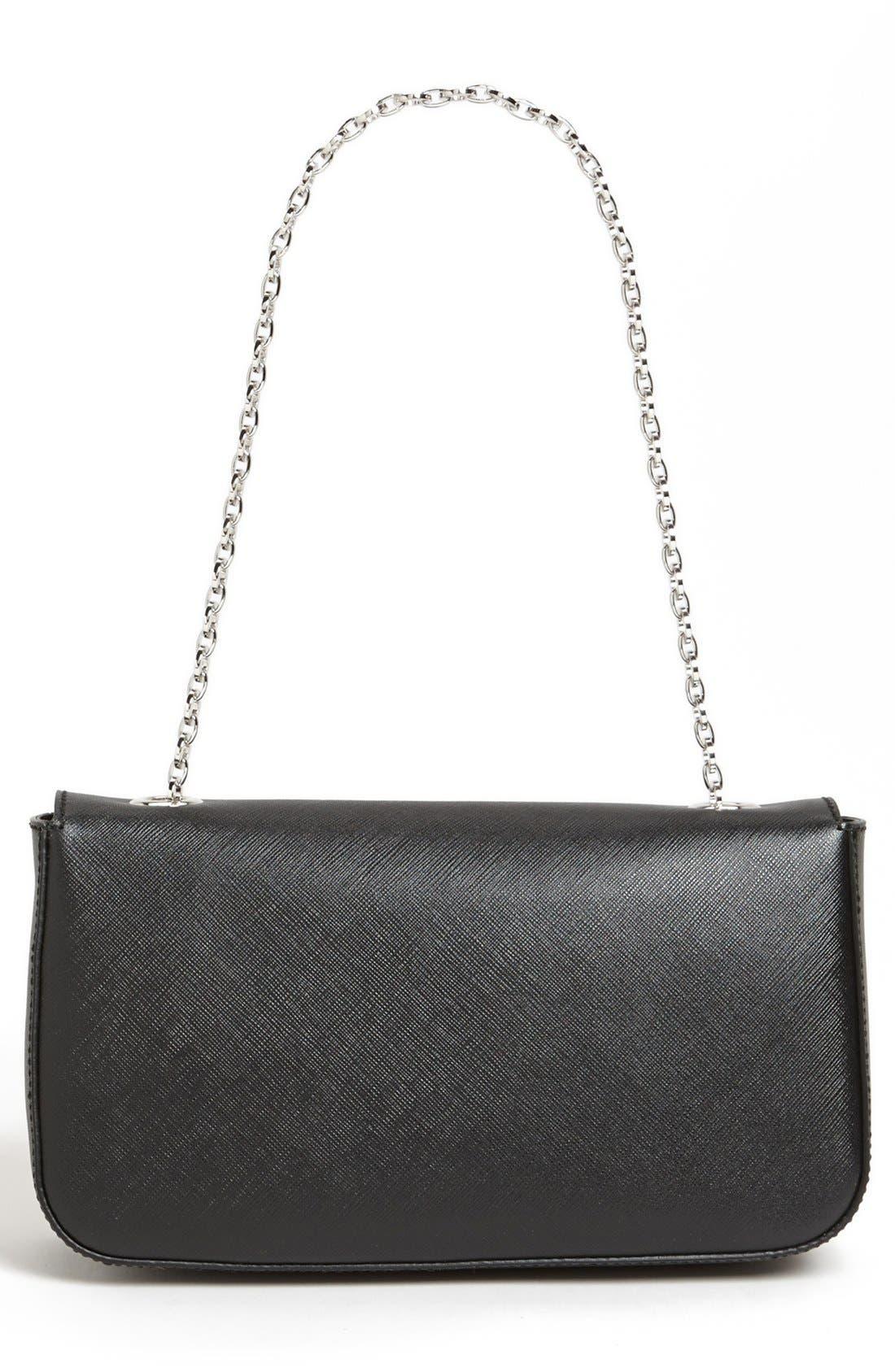 Alternate Image 4  - Salvatore Ferragamo 'Rory' Leather Shoulder Bag
