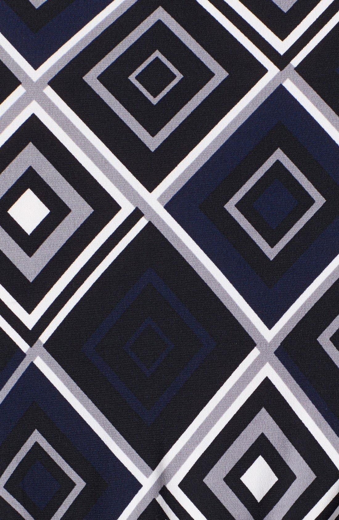 Alternate Image 3  - Anne Klein Print Faux Wrap Jersey Dress (Plus Size)