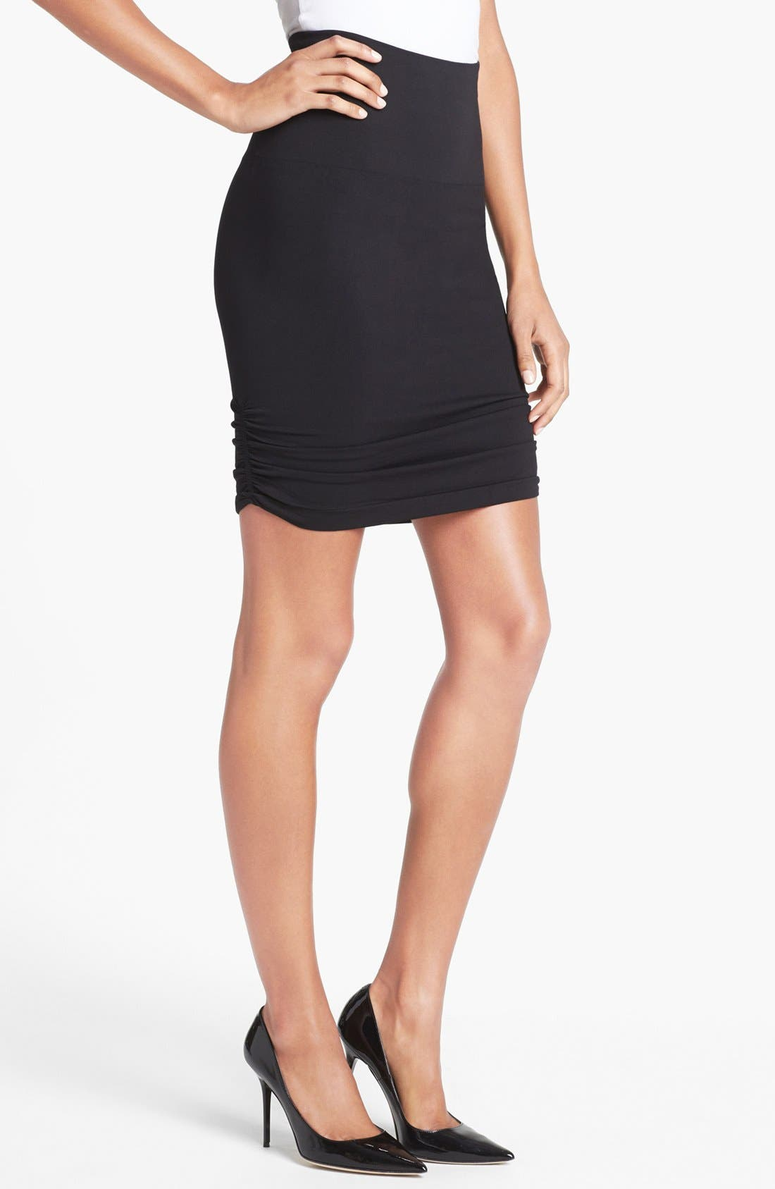 power by spanx 174 tout about shaping skirt nordstrom