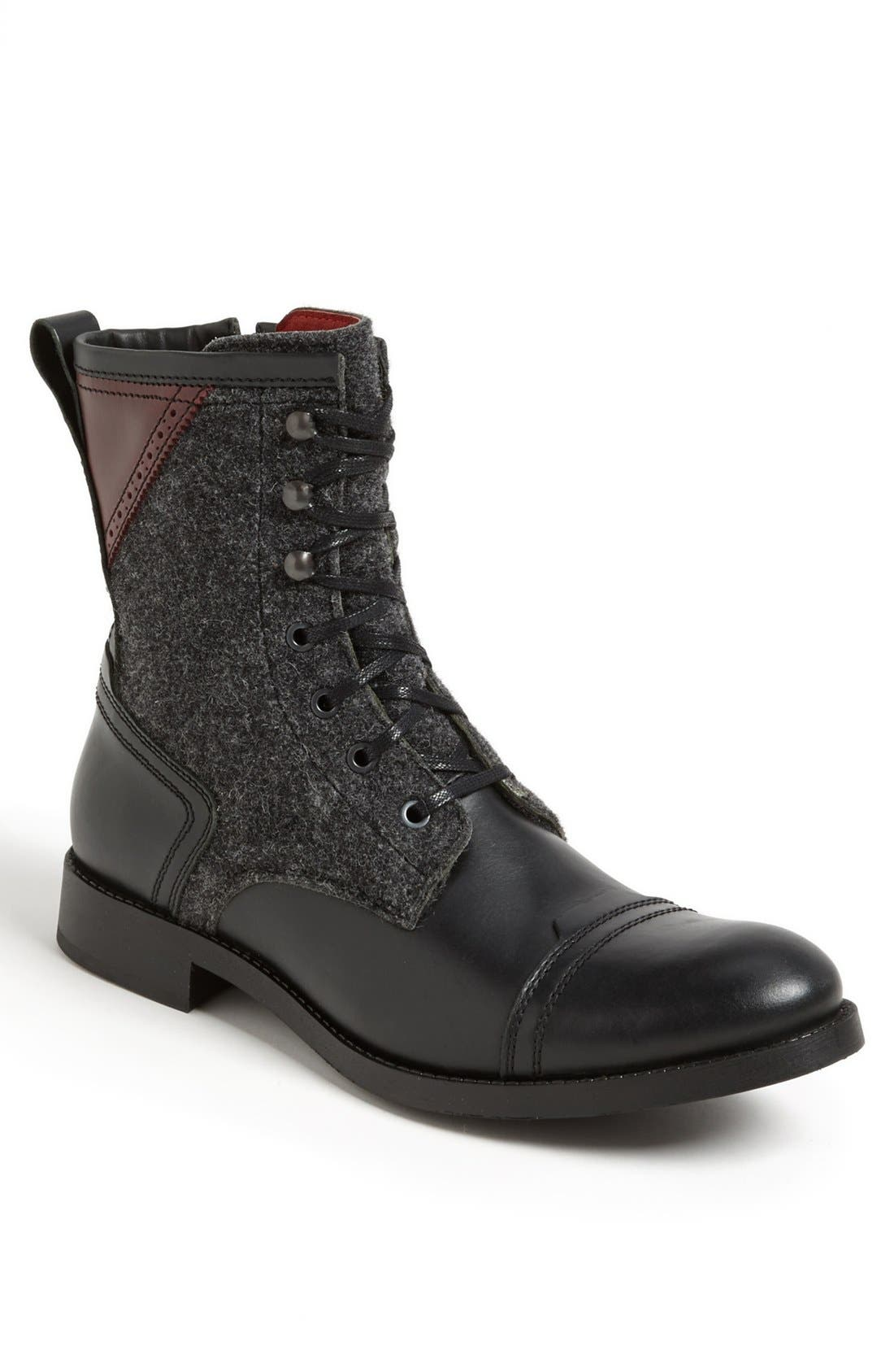 Alternate Image 1 Selected - Kenneth Cole New York 'Brush It Off' Cap Toe Boot