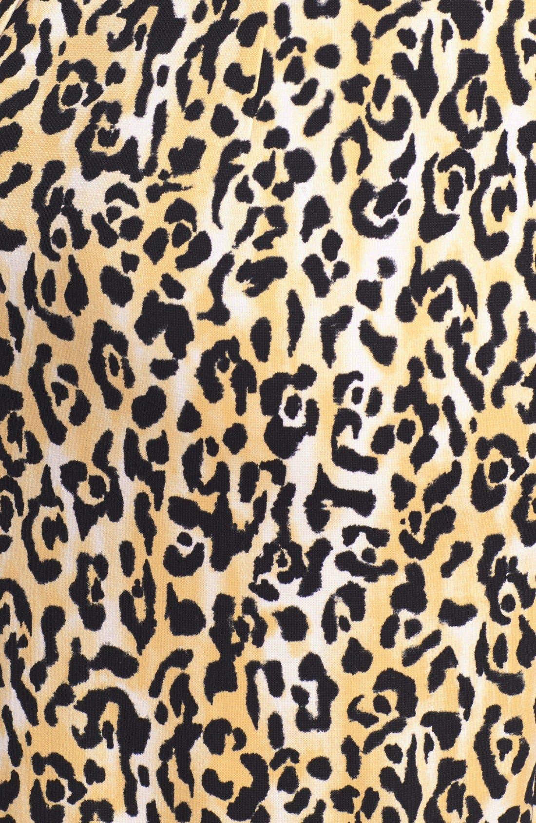 Alternate Image 3  - Calvin Klein Print Ponte Knit Sheath Dress (Plus Size)