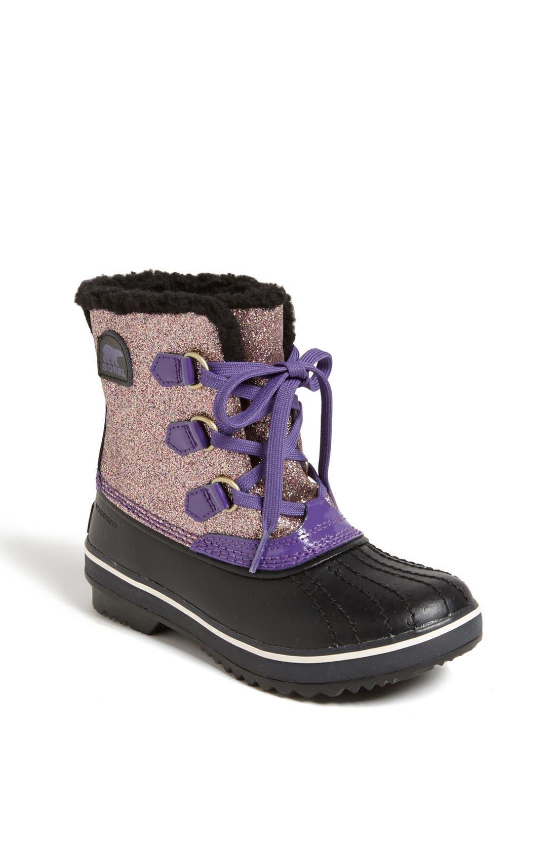 Main Image - SOREL 'Youth Tivoli - Glitter' Boot (Little Kid & Big Kid)