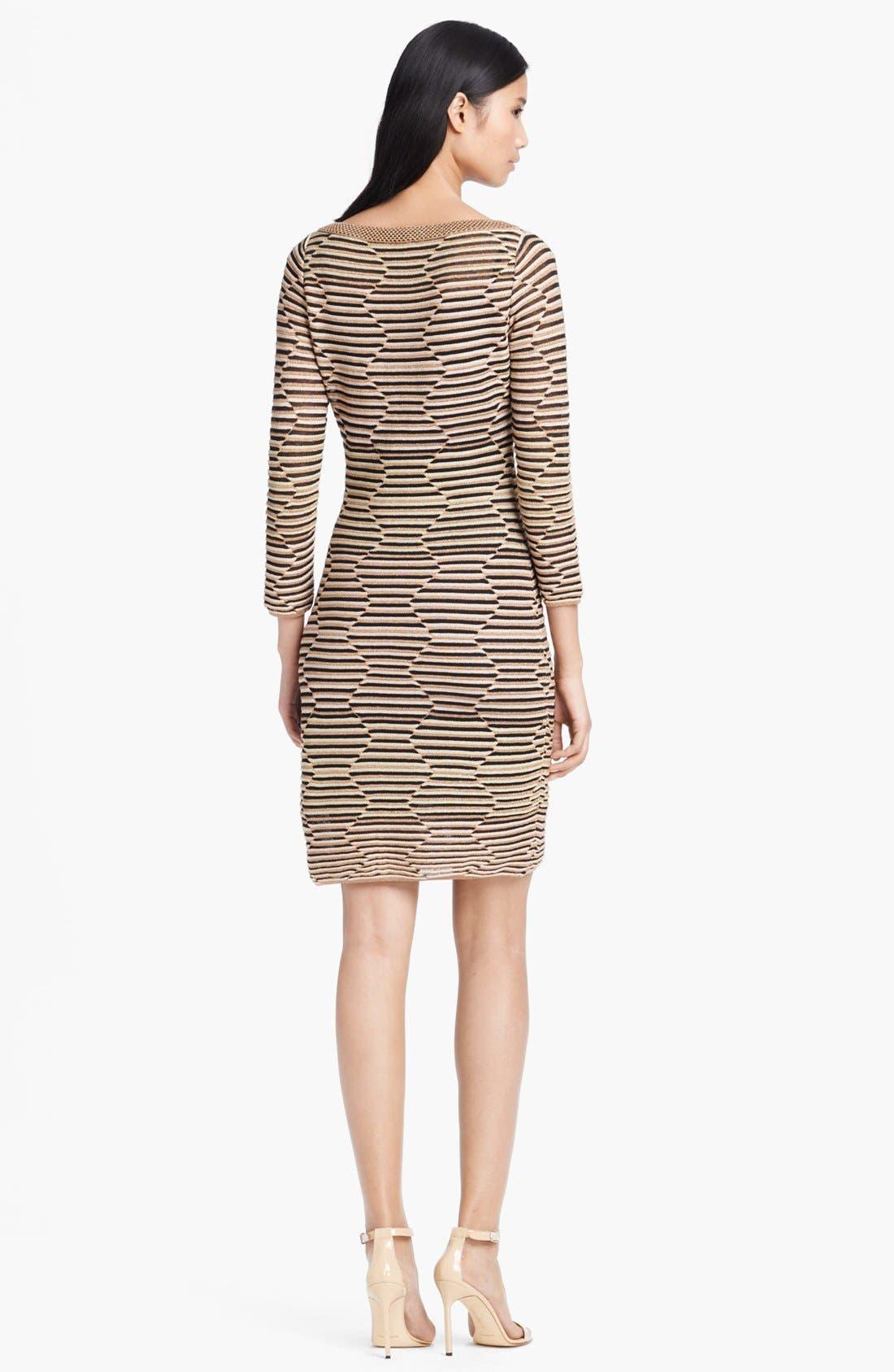 Alternate Image 2  - M Missoni Hexagon Stripe Dress