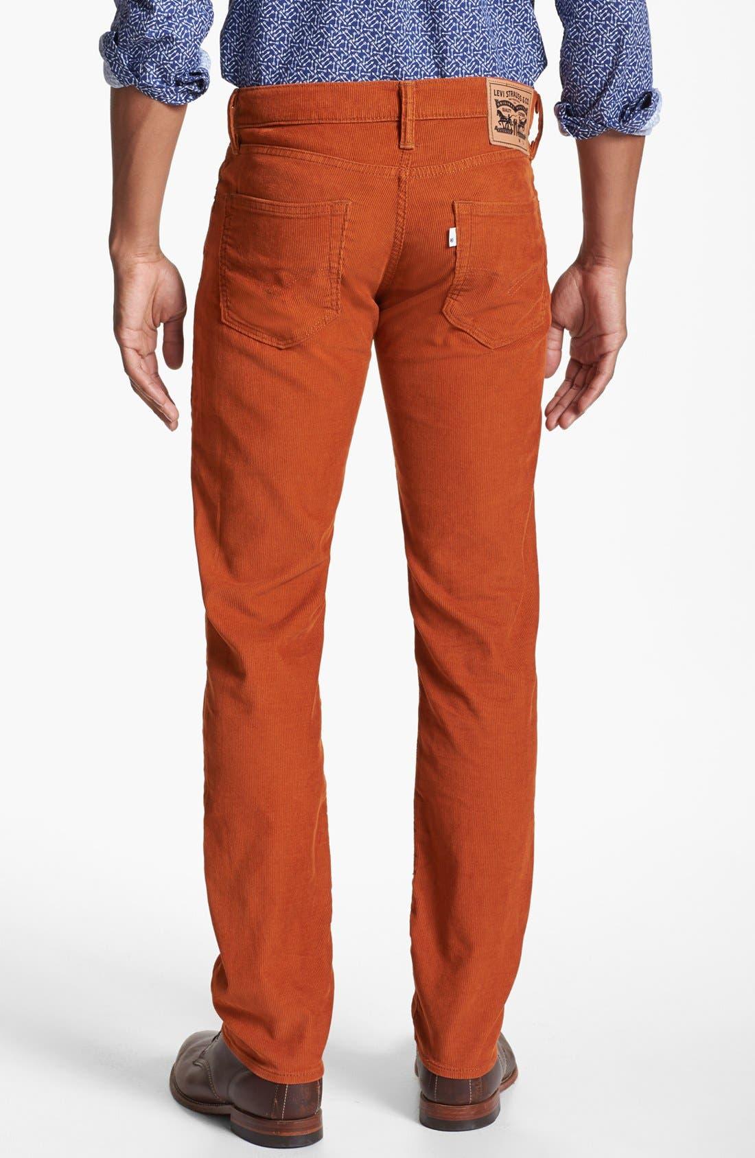 Alternate Image 2  - Levi's® '511™' Skinny Leg Corduroy Pants