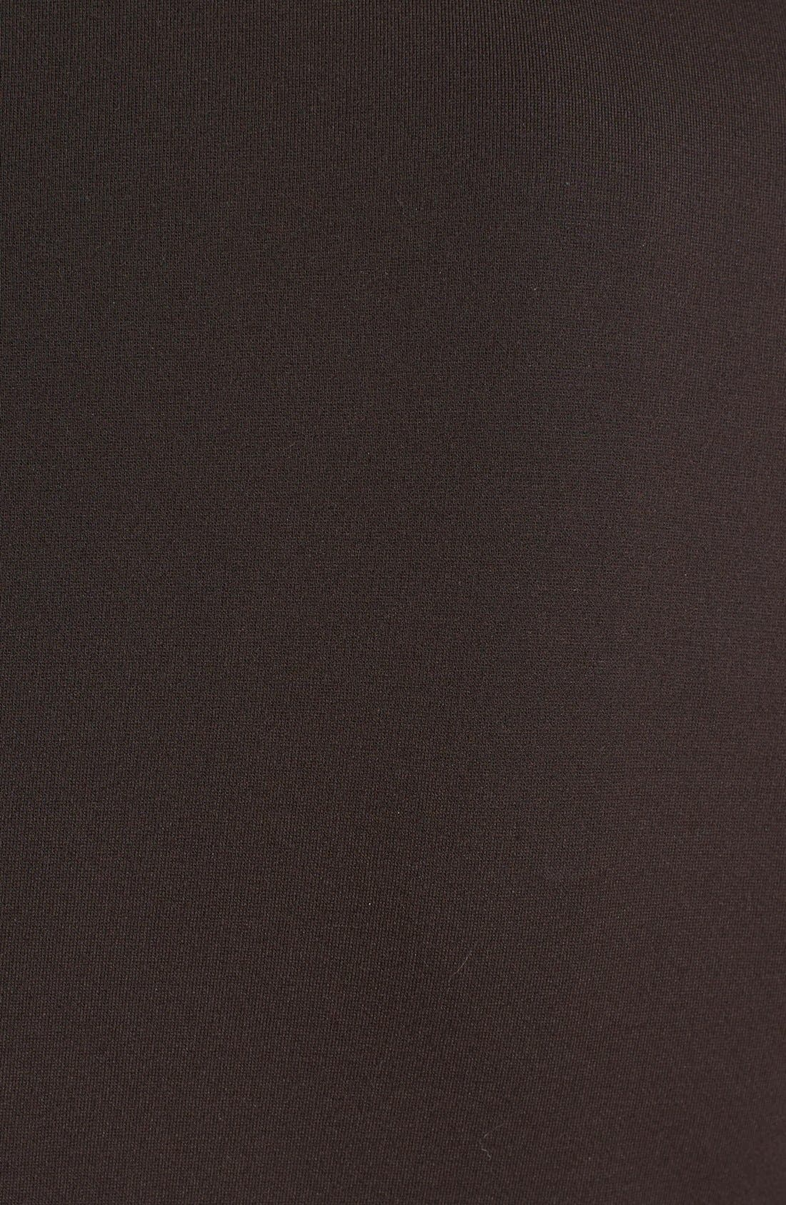 Alternate Image 3  - MICHAEL Michael Kors Faux Leather Front Ponte Blazer