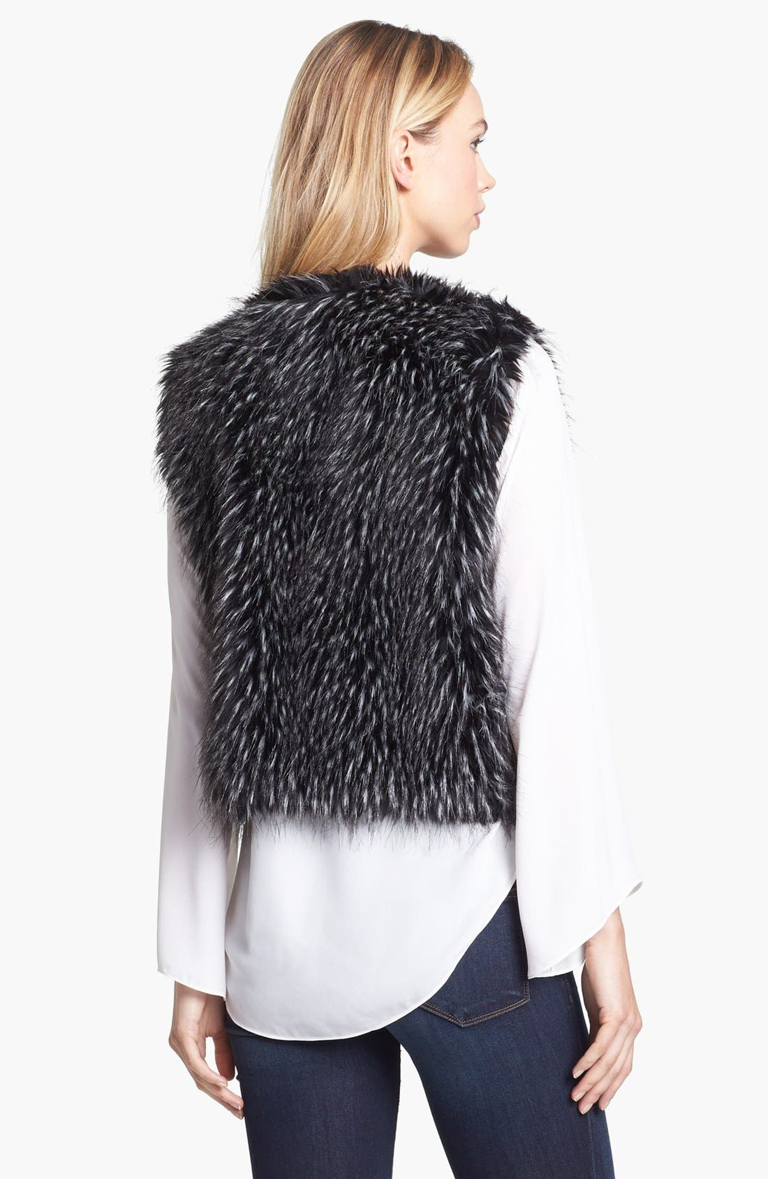 Alternate Image 4  - Vince Camuto Faux Fur Vest