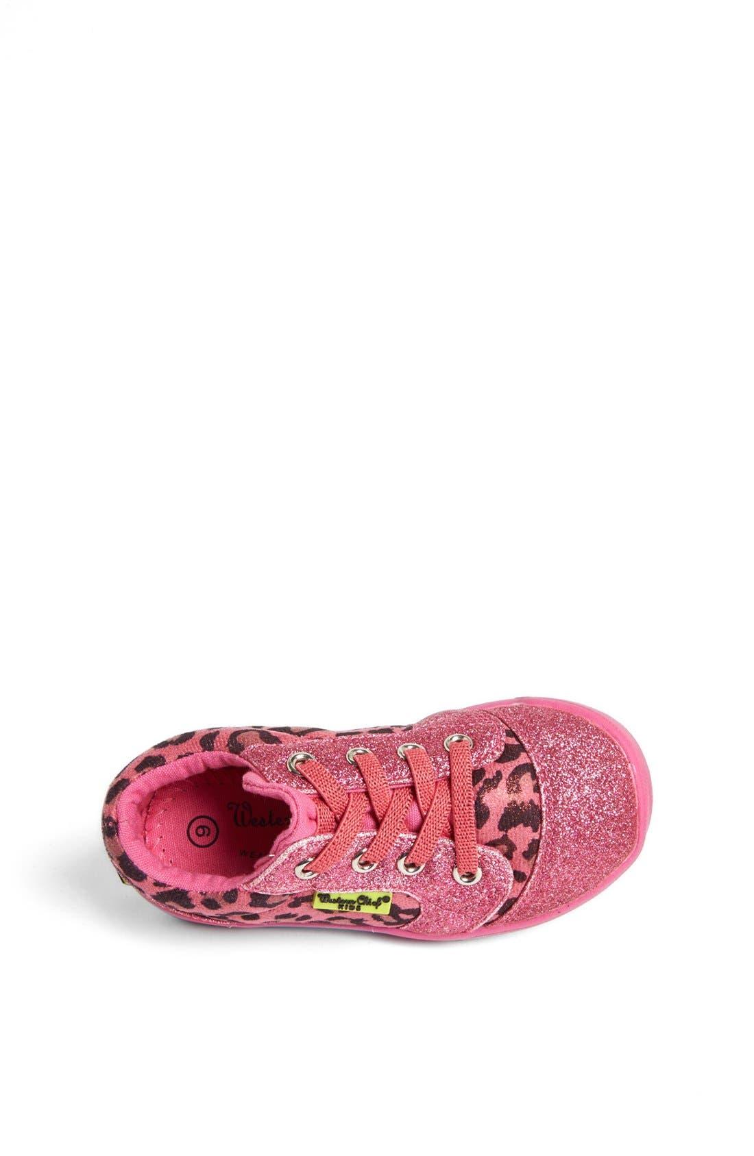 Alternate Image 3  - Western Chief 'Flashy Leopard' Sneaker (Walker & Toddler)
