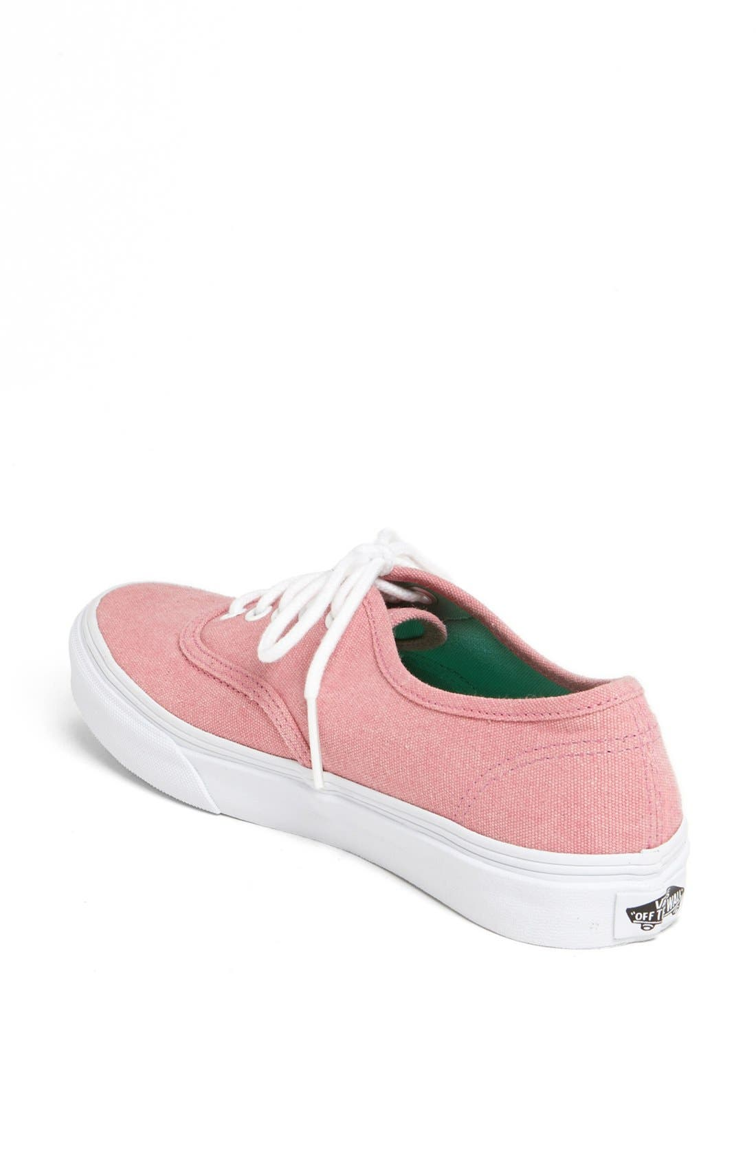 Alternate Image 2  - Vans 'Authentic - Slim' Sneaker (Women)