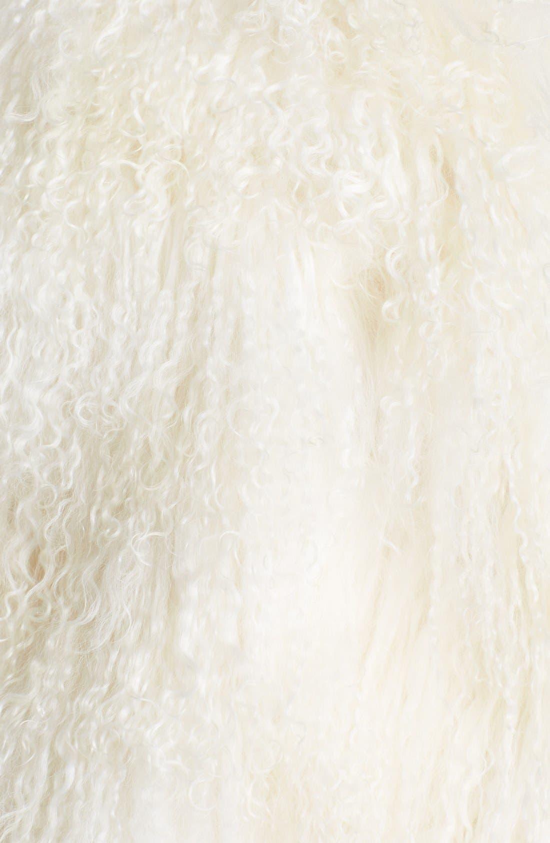 Alternate Image 4  - Topshop Unique Genuine Lamb Shearling Sweater