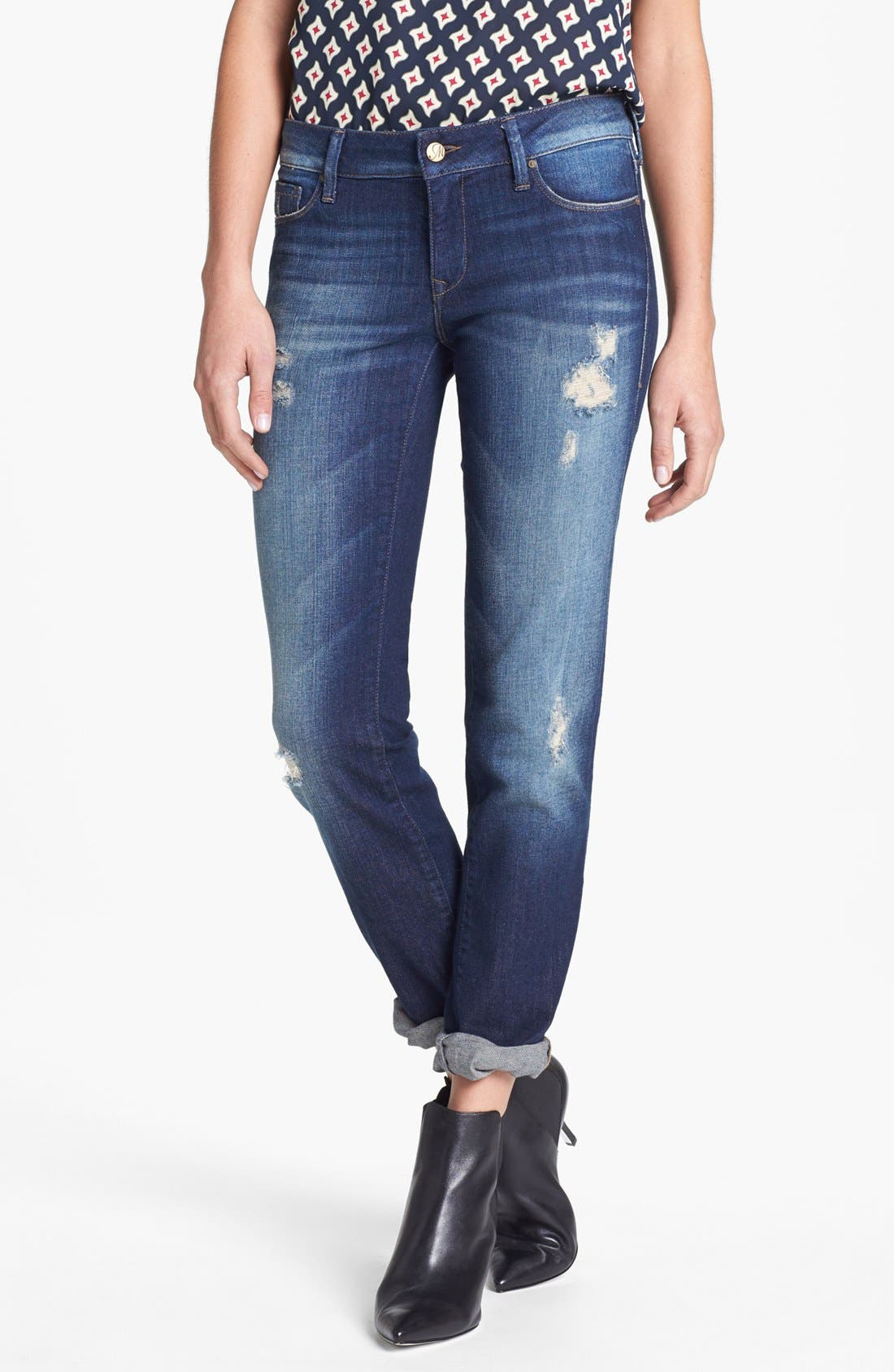 Alternate Image 1 Selected - Mavi Jeans 'Emma' Slim Fit Boyfriend Jeans (Vintage)