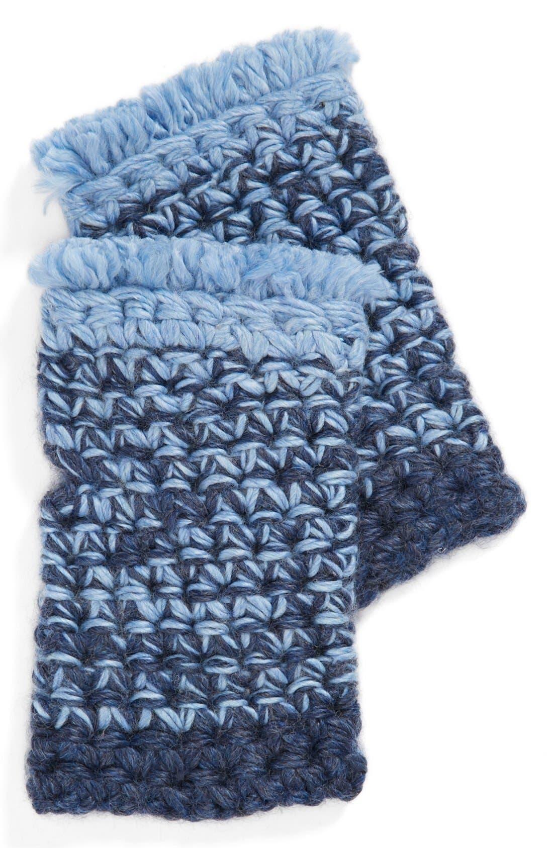 Main Image - Echo 'Fringy' Fingerless Gloves