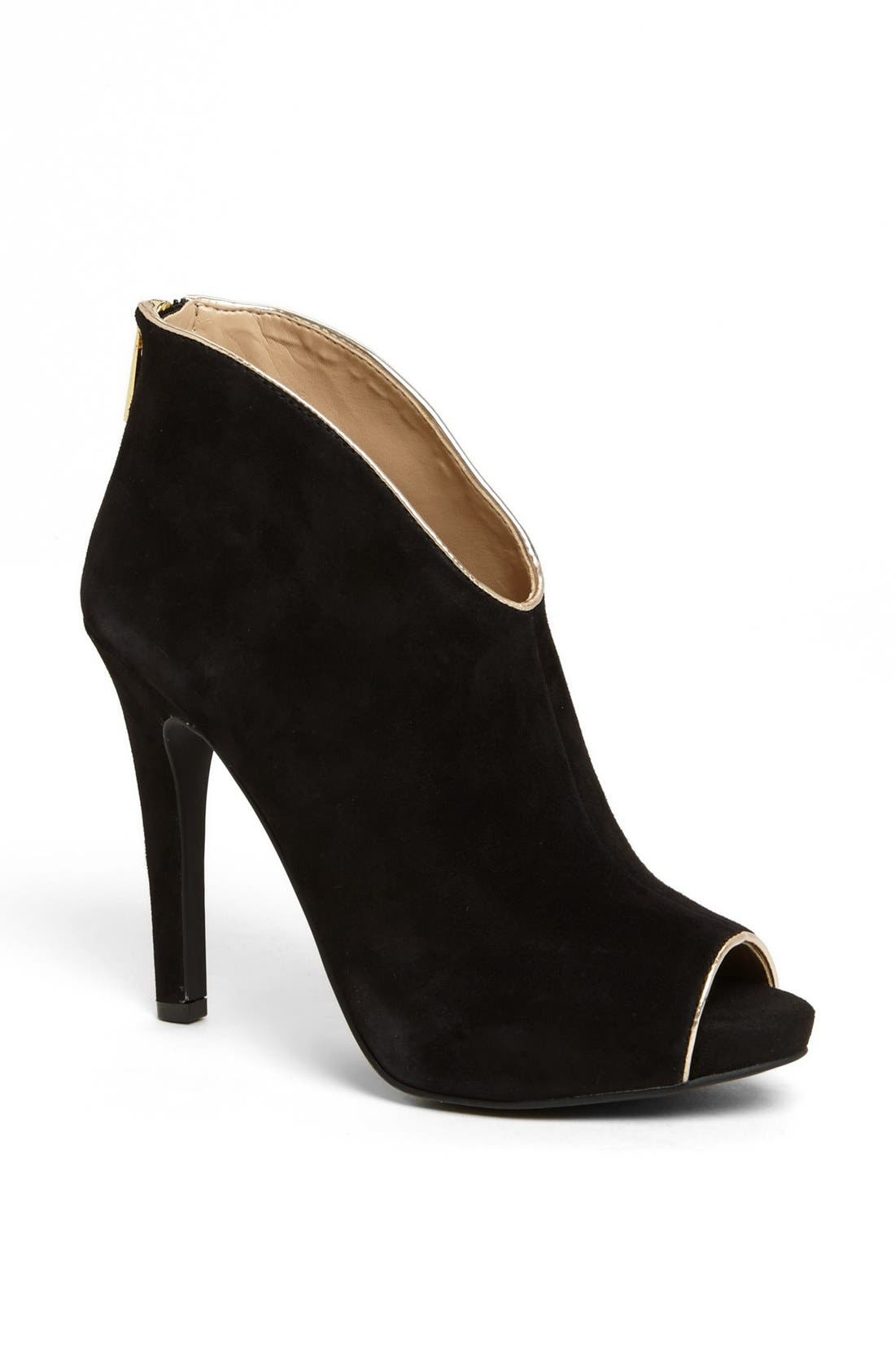 Alternate Image 1 Selected - Jessica Simpson 'Abbear' Peep Toe Bootie