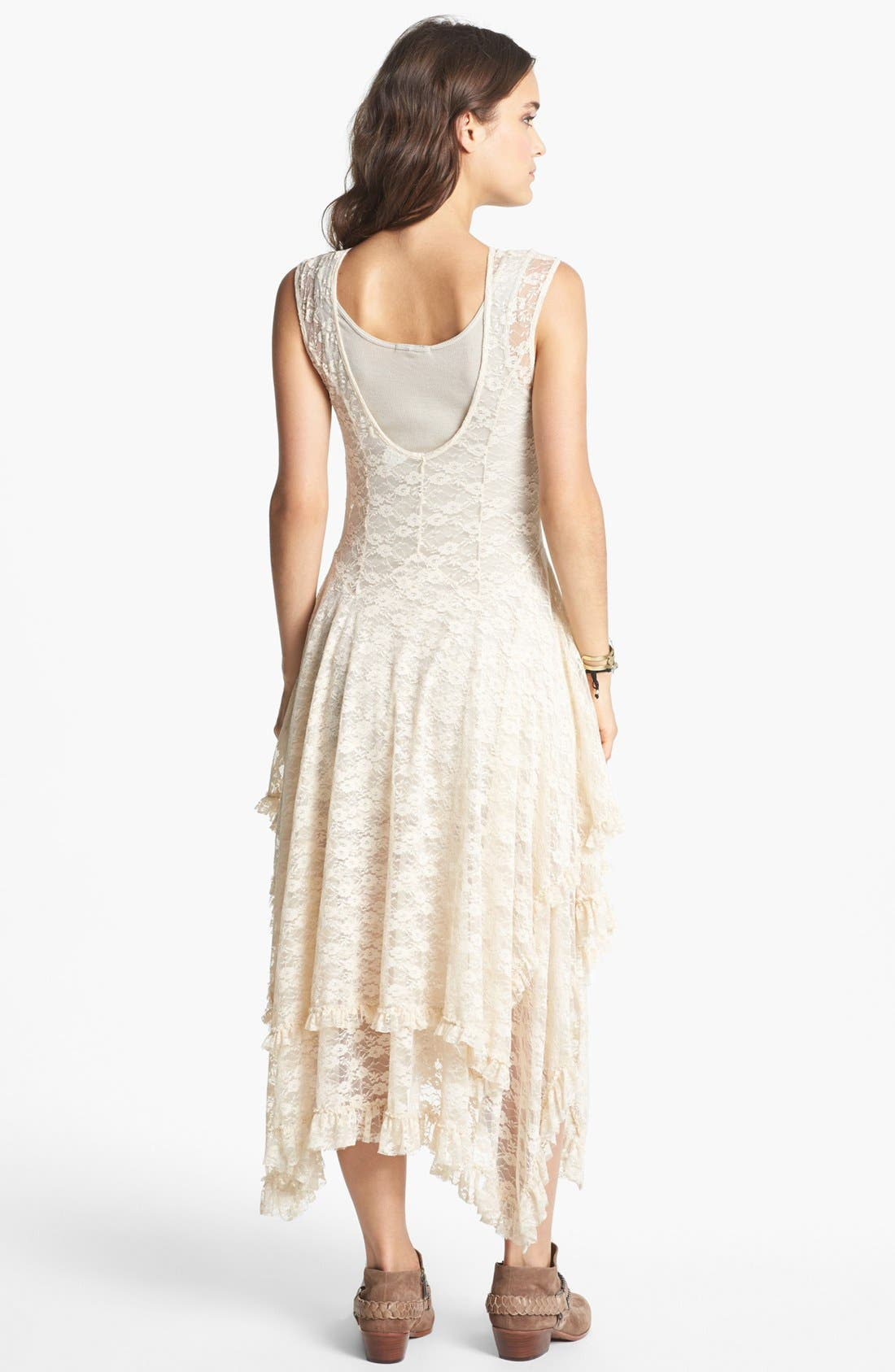 Alternate Image 2  - Free People 'French Court' Lace Slipdress
