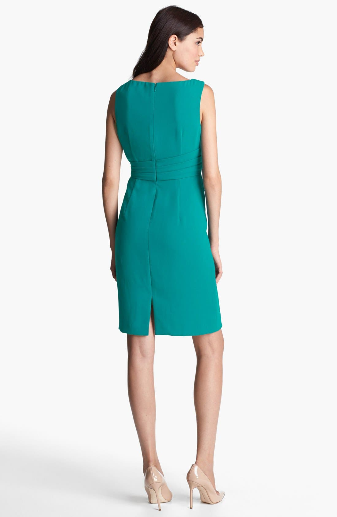 Alternate Image 2  - Ivanka Trump Side Embellished Sheath Dress