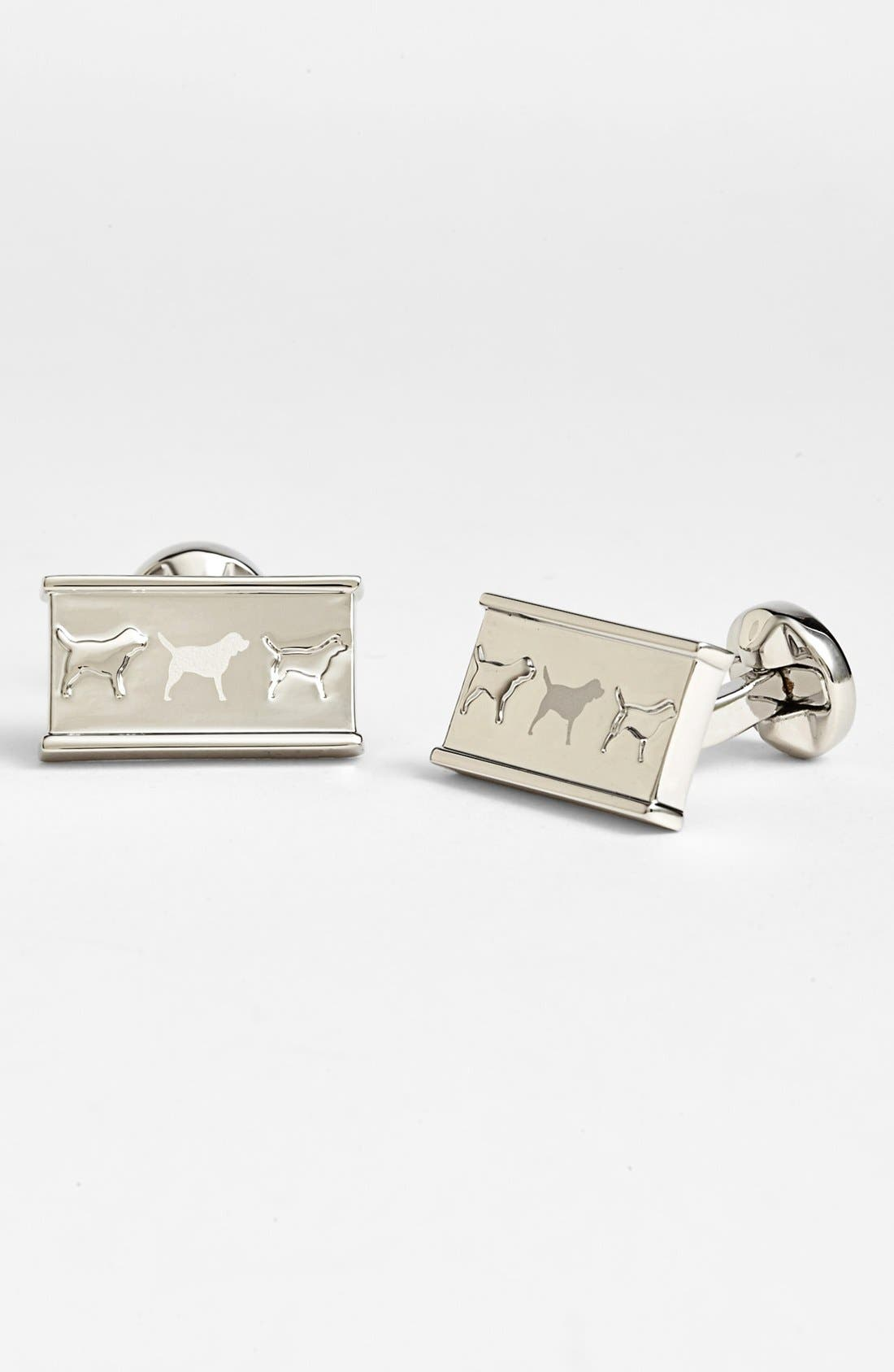 Alternate Image 1 Selected - Ted Baker London 'Etch Dogs' Cuff Links