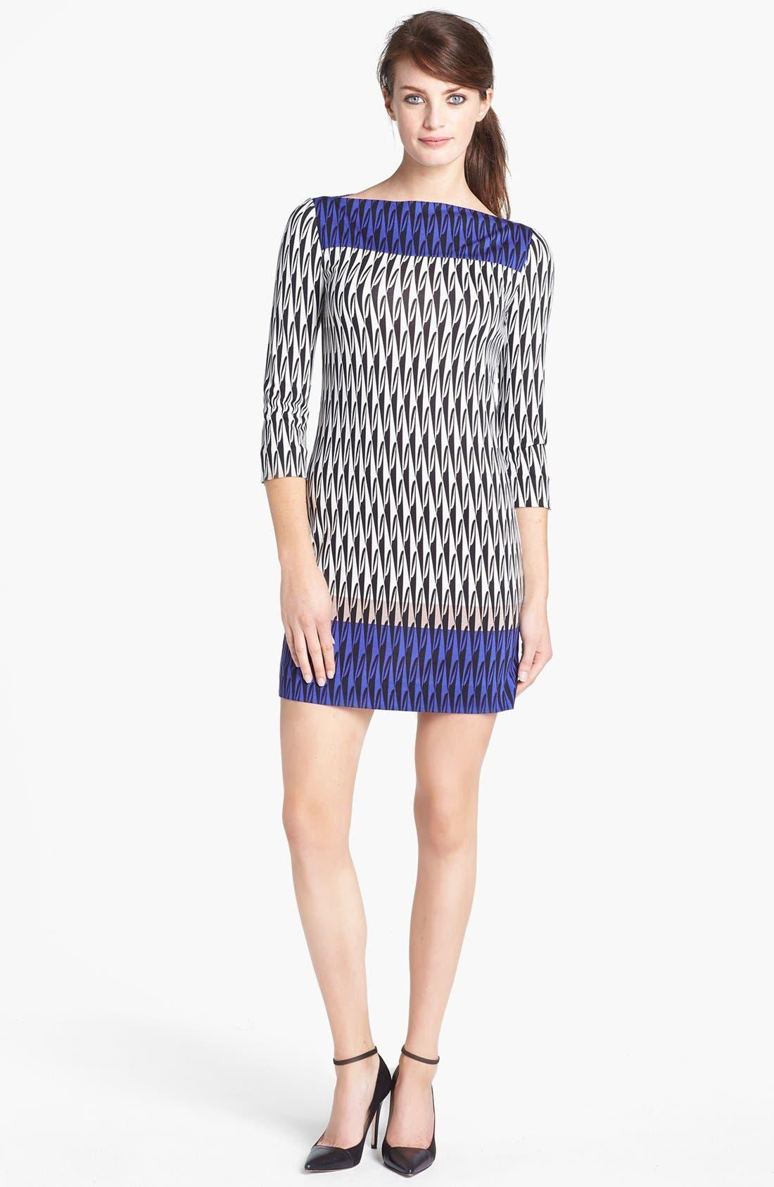 Main Image - Diane von Furstenberg 'Ruri' Silk Shift Dress