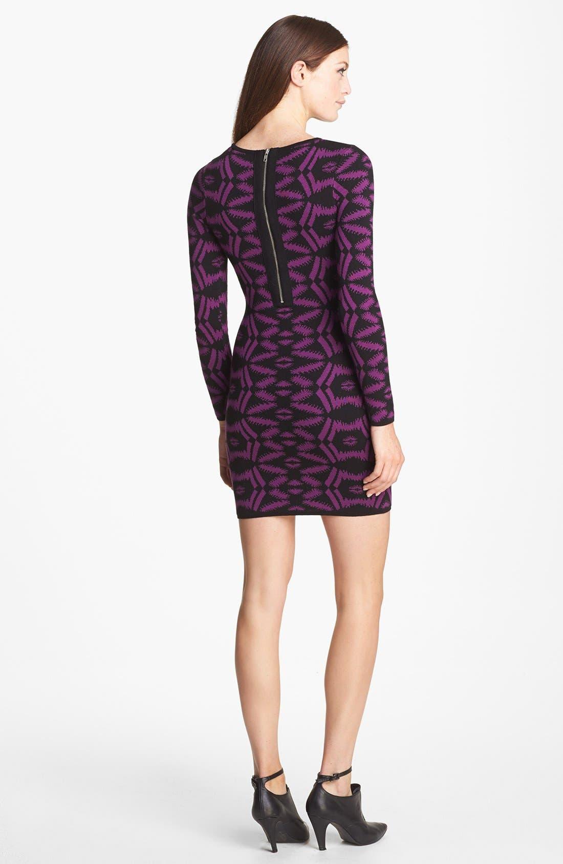 Alternate Image 2  - Presley Skye Body-Con Sweater Dress