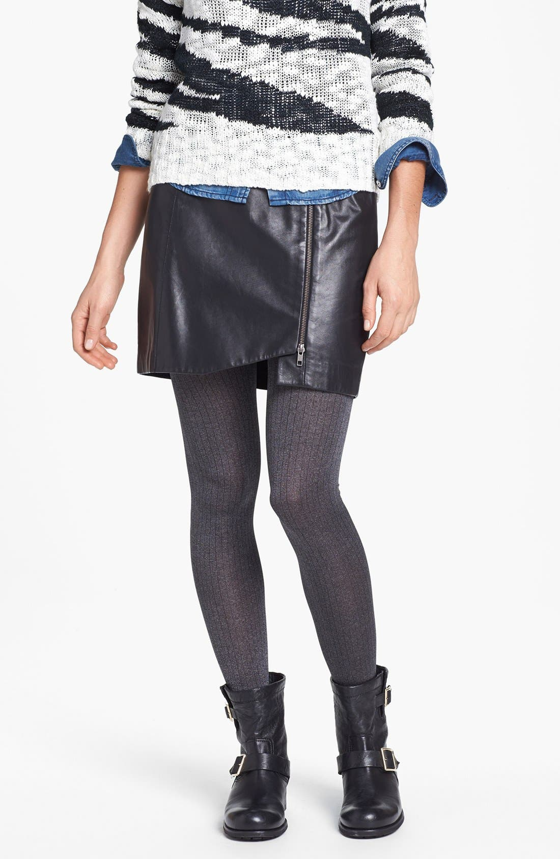 Alternate Image 1 Selected - Nordstrom 'Autumn Rib' Tights