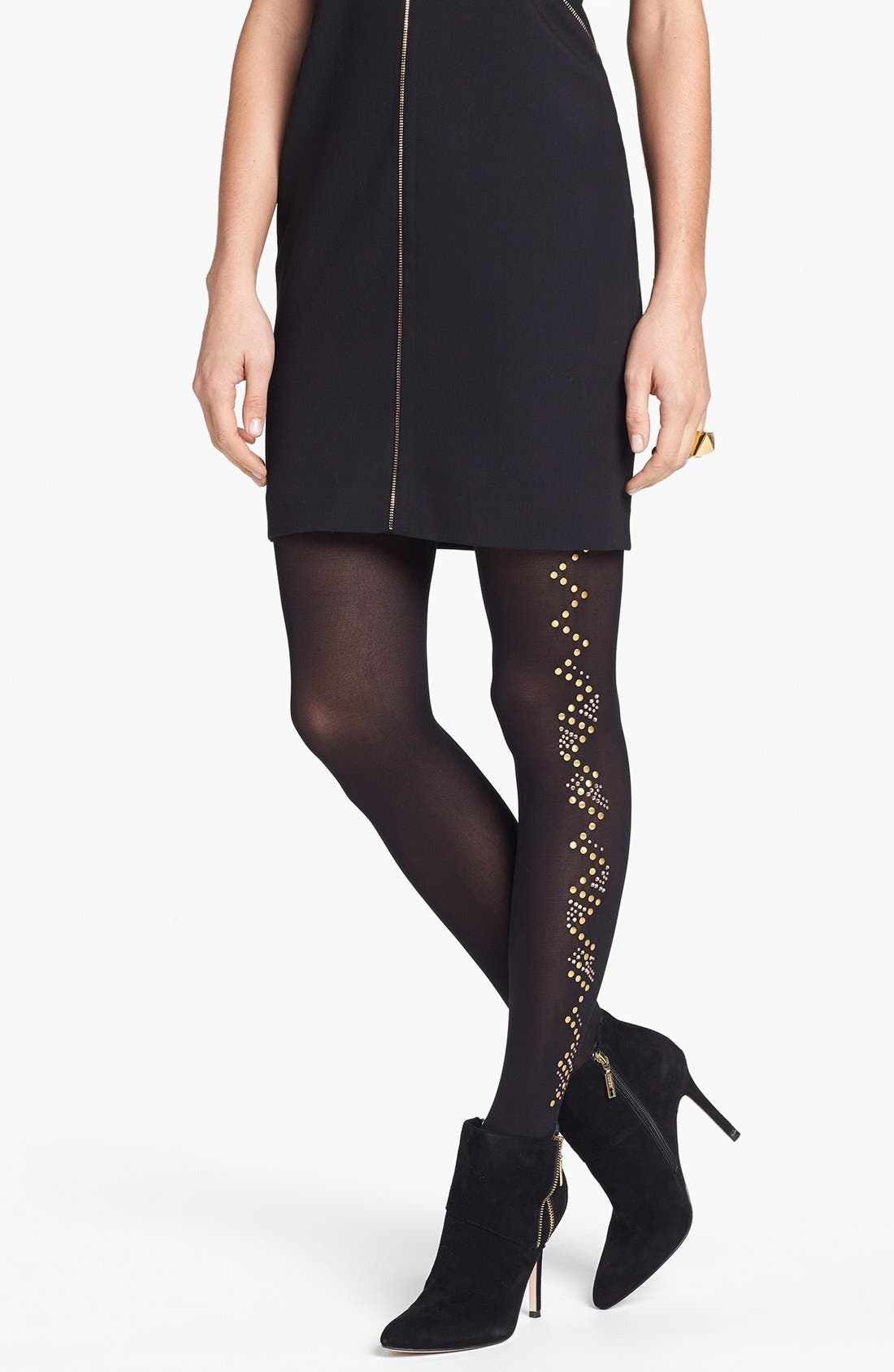 Main Image - Pretty Polly 'Glitzy' Embellished Tights