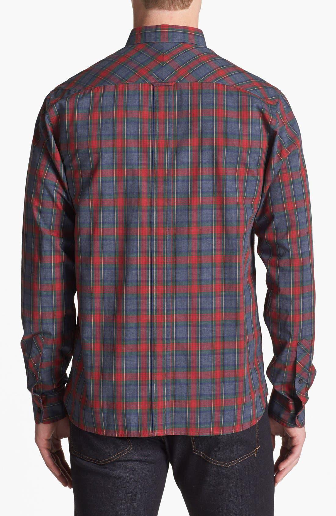 Alternate Image 2  - Fred Perry 'Stewart' Trim Fit Sport Shirt