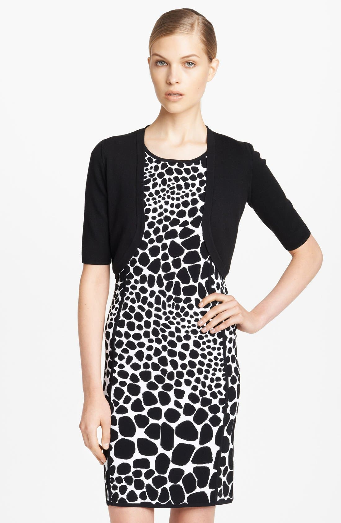 Main Image - Michael Kors Merino Wool Shrug