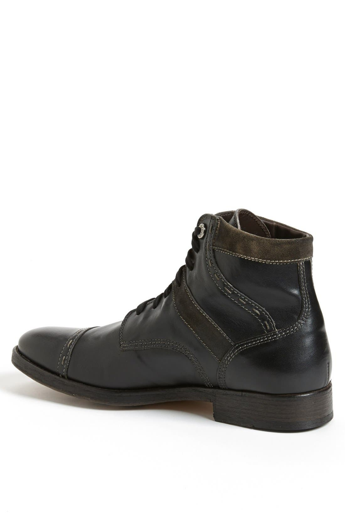 Alternate Image 2  - Bacco Bucci 'Barone' Cap Toe Boot (Men)
