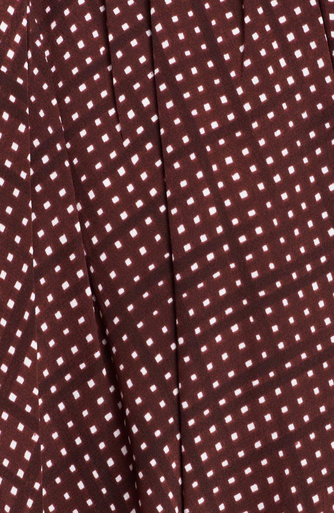 Alternate Image 4  - MARC JACOBS Pleated Silk Crepe Miniskirt