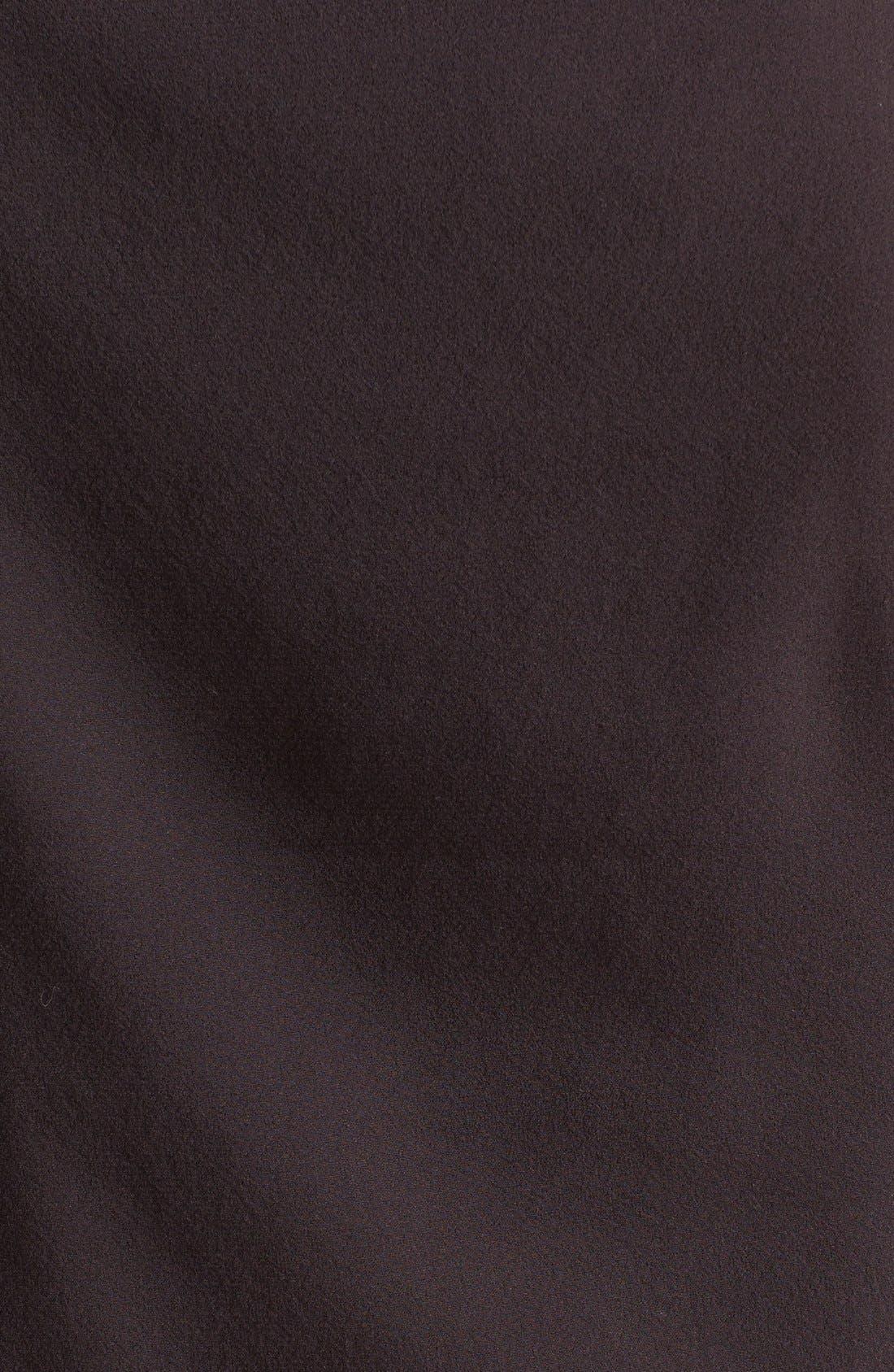 Alternate Image 3  - Vince Leather & Stretch Silk Shell