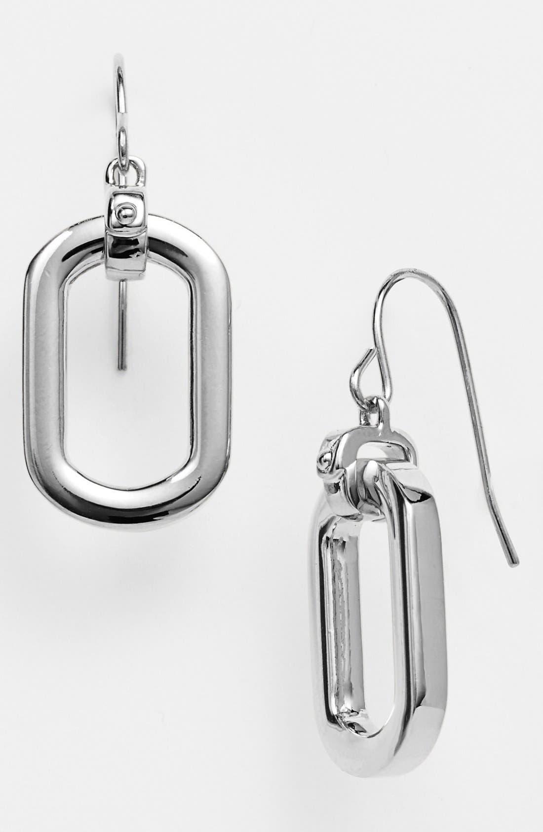 Alternate Image 1 Selected - Lauren Ralph Lauren Link Drop Earrings