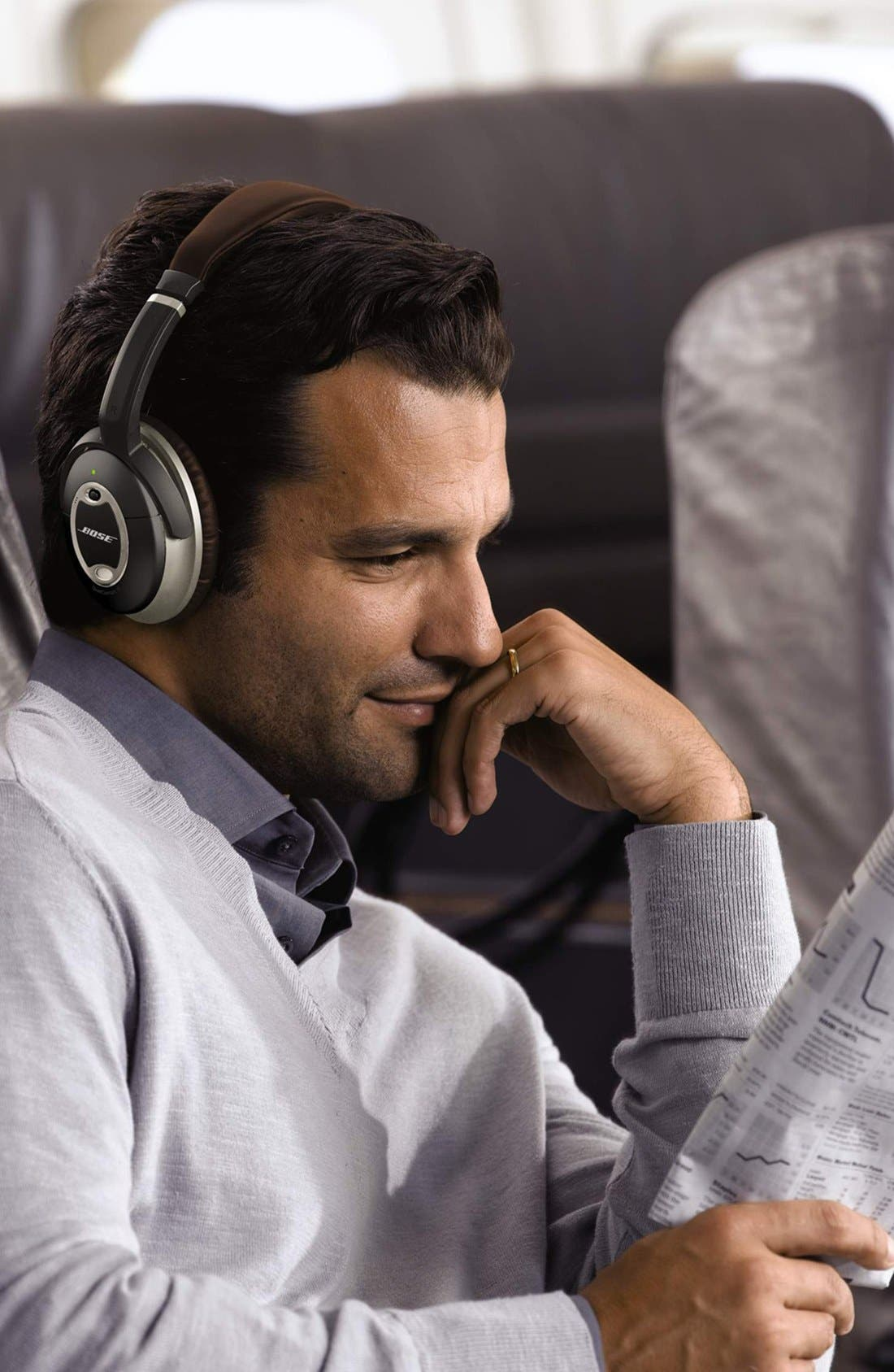 Alternate Image 3  - Bose® QuietComfort® 15 Acoustic Noise Cancelling® Headphones (Limited Edition)