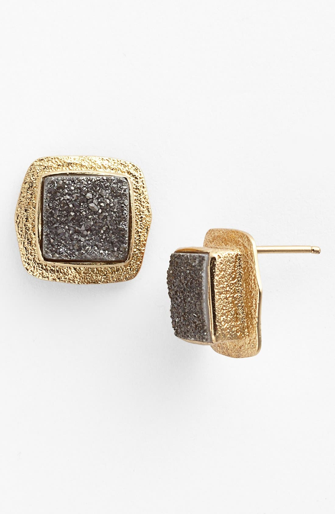 Alternate Image 1 Selected - Melinda Maria 'Jordan' Drusy Stud Earrings