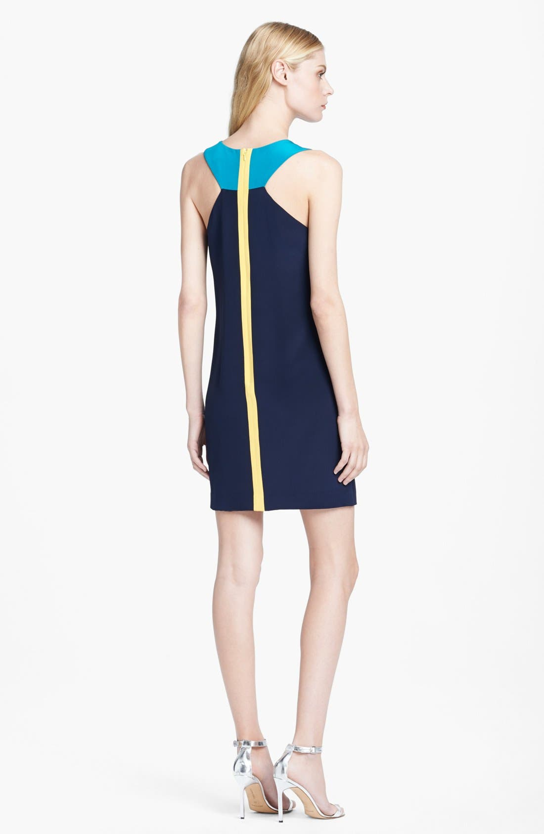 Alternate Image 2  - Jay Godfrey Colorblock Racerback Shift Dress
