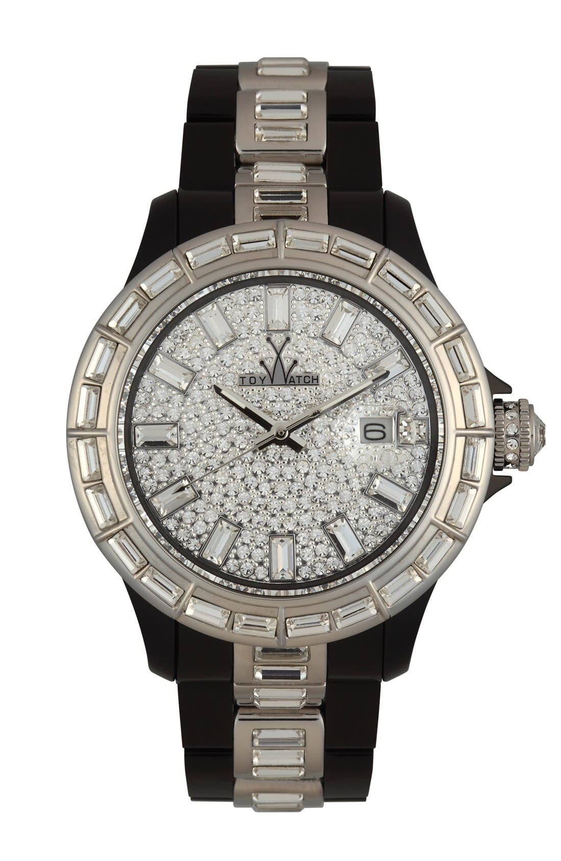 Alternate Image 1 Selected - TOYWATCH 'Gems' Bracelet Watch, 41mm
